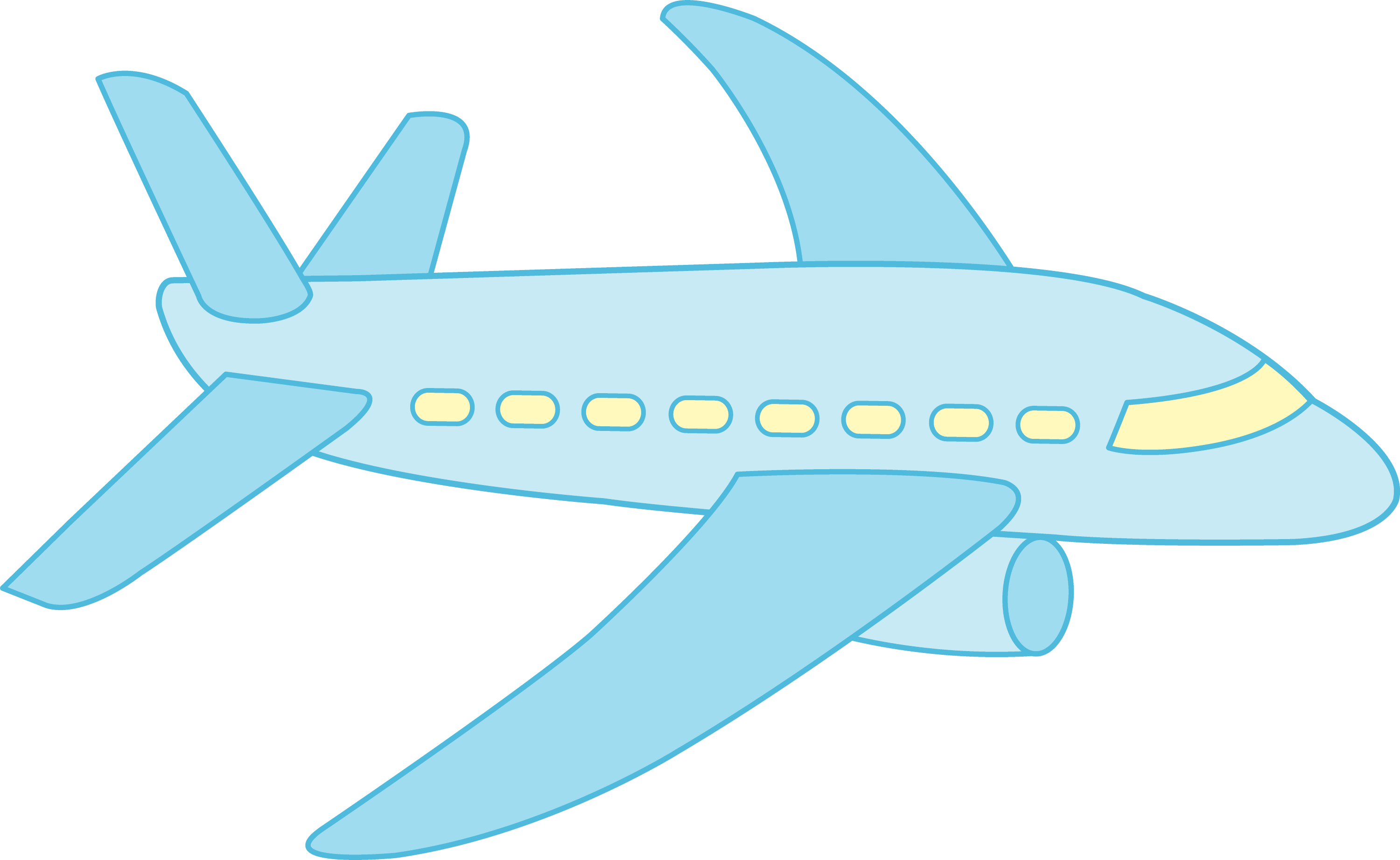 cartoon airplane clipart - photo #34