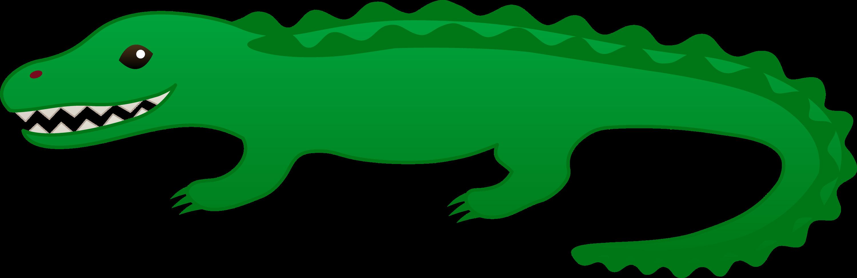 cute green alligator clip art   free clip art