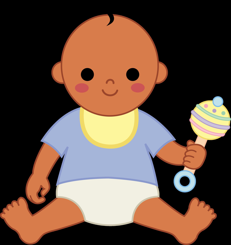 Little Baby Boy 2 - Free Clip Art