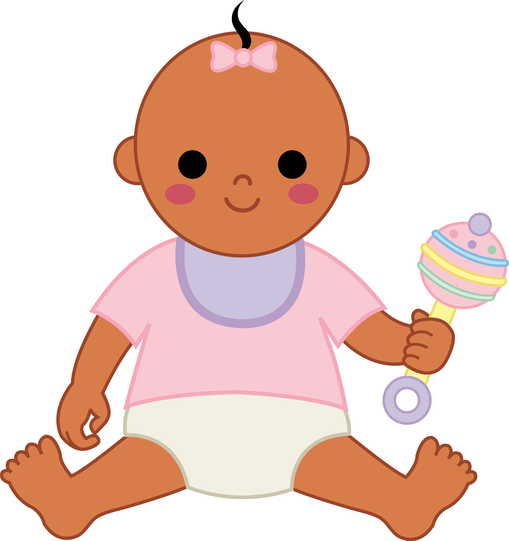 Little Baby Girl 2 - Free Clip Art