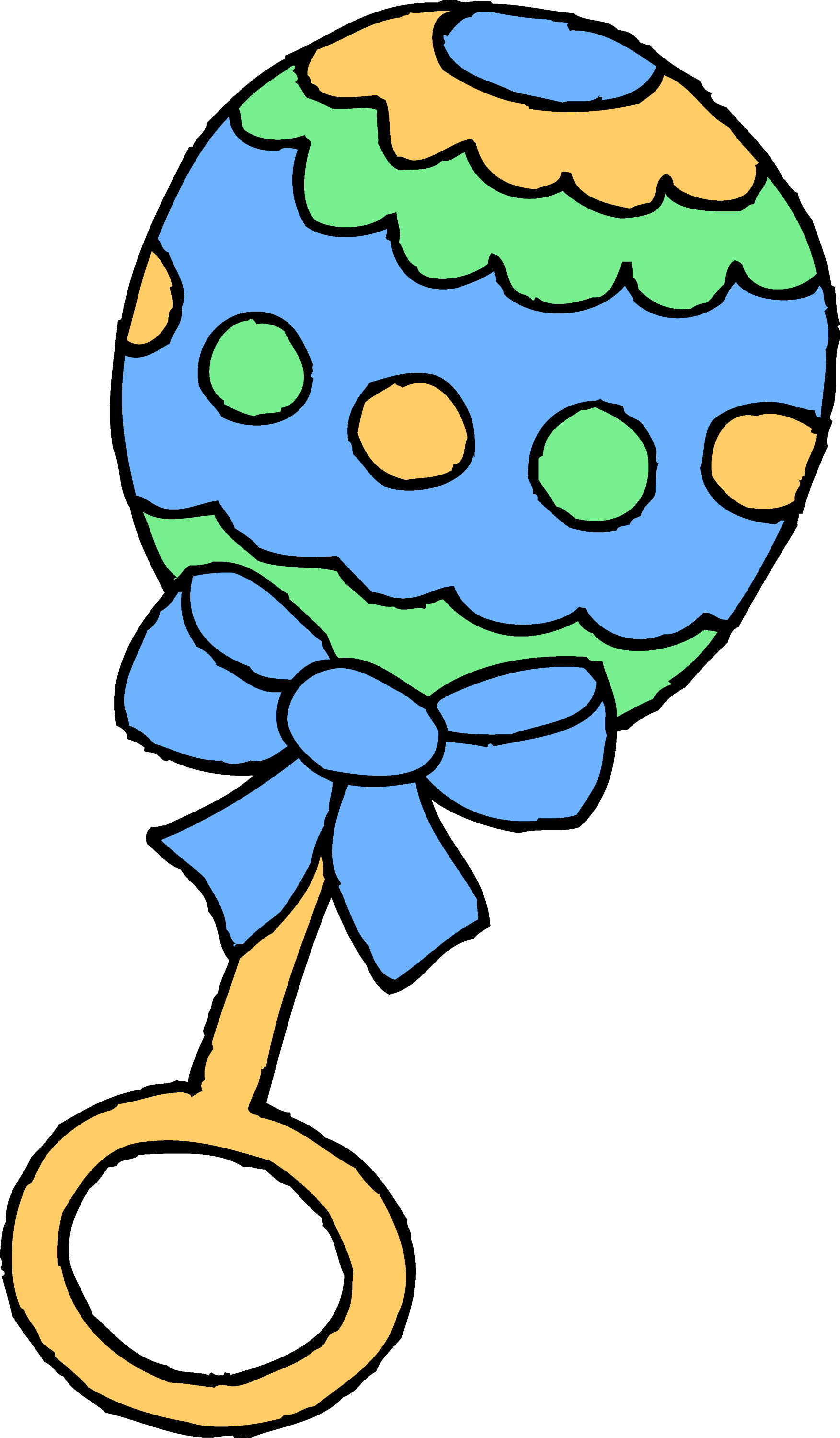 free clipart baby rattle - photo #11