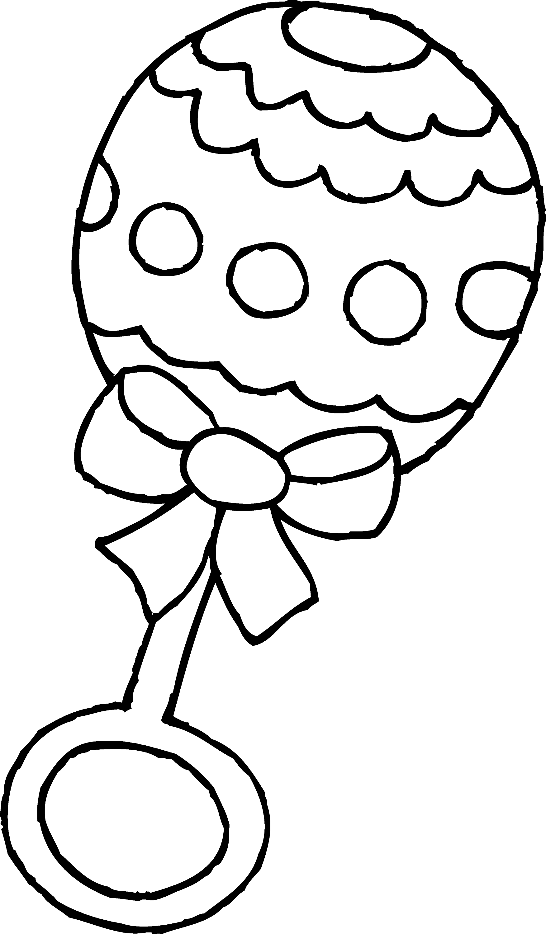 baby toys coloring pages baby rattle coloring page free clip art