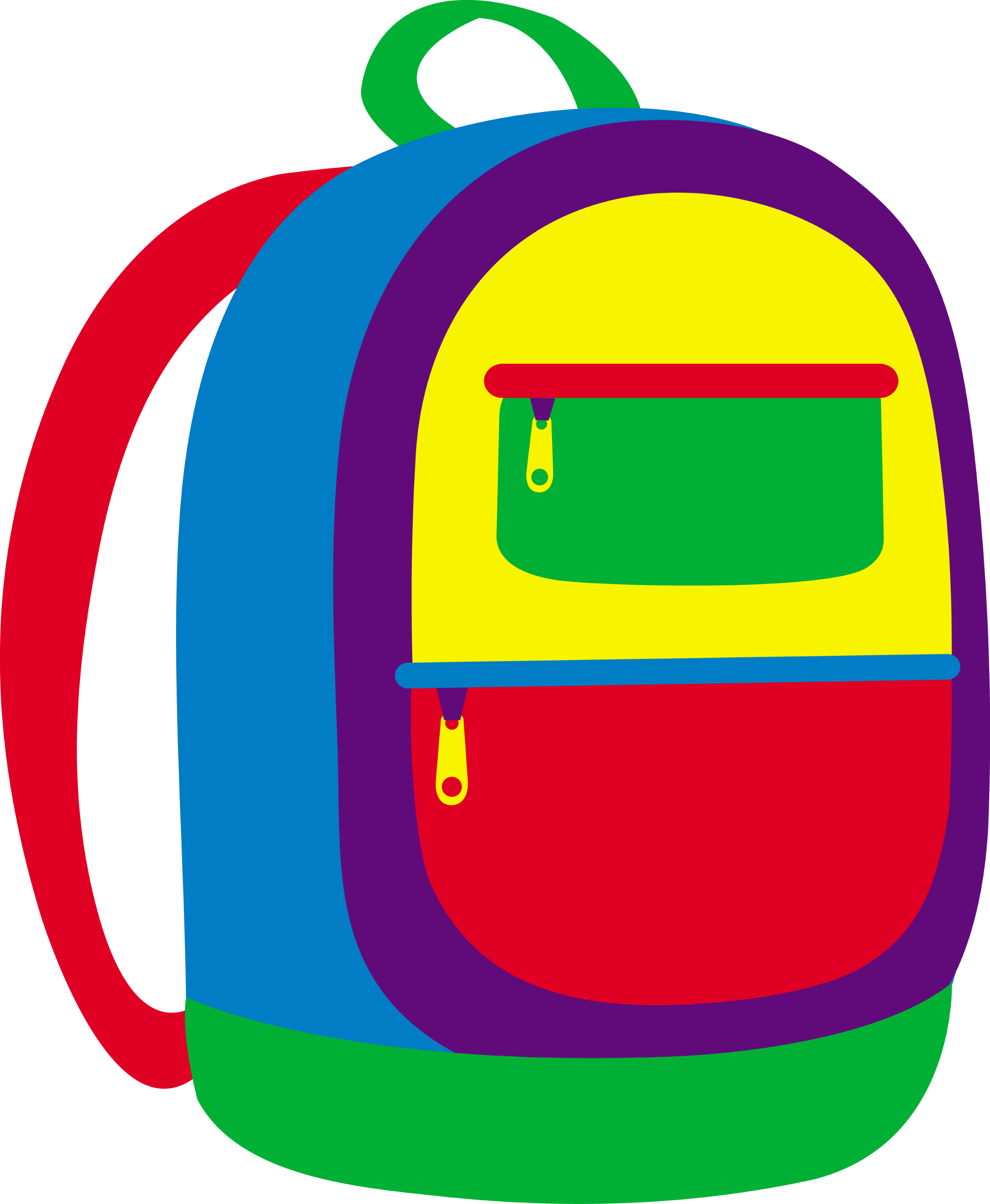 colorful childrens school backpack free clip art rh sweetclipart com  backpack clipart images
