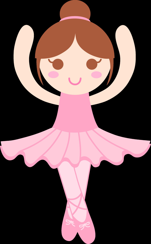 Cute Ballerina Clip Art Free