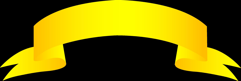 Golden Banner - Free Clip Art