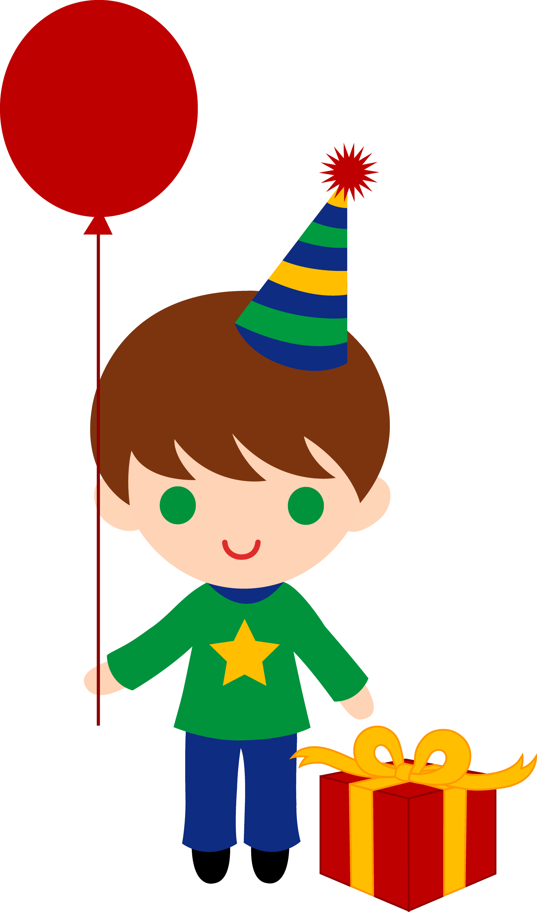 Cute People Clipart Cute Birthday Boy Clipart