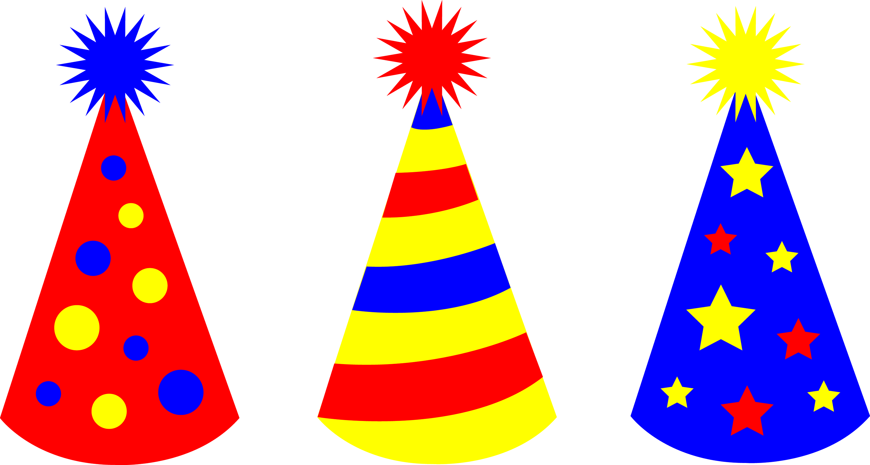 childrens birthday party hats free clip art rh sweetclipart com