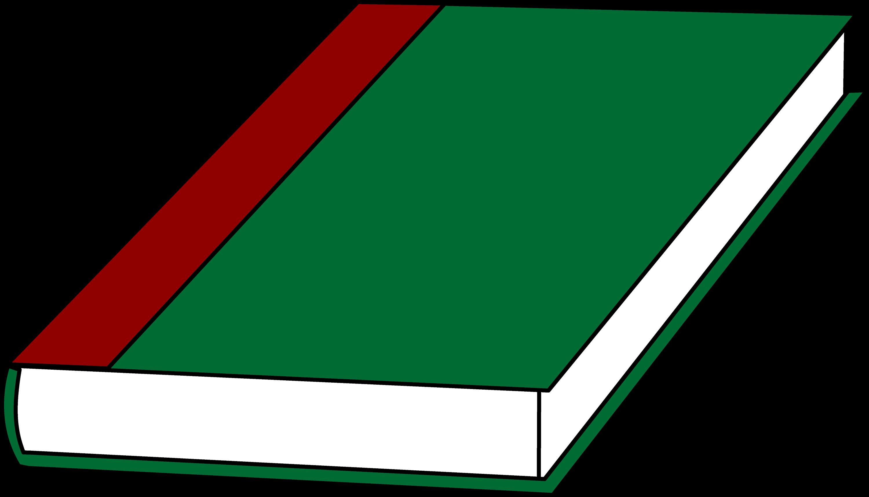 book clipart. a green book clipart