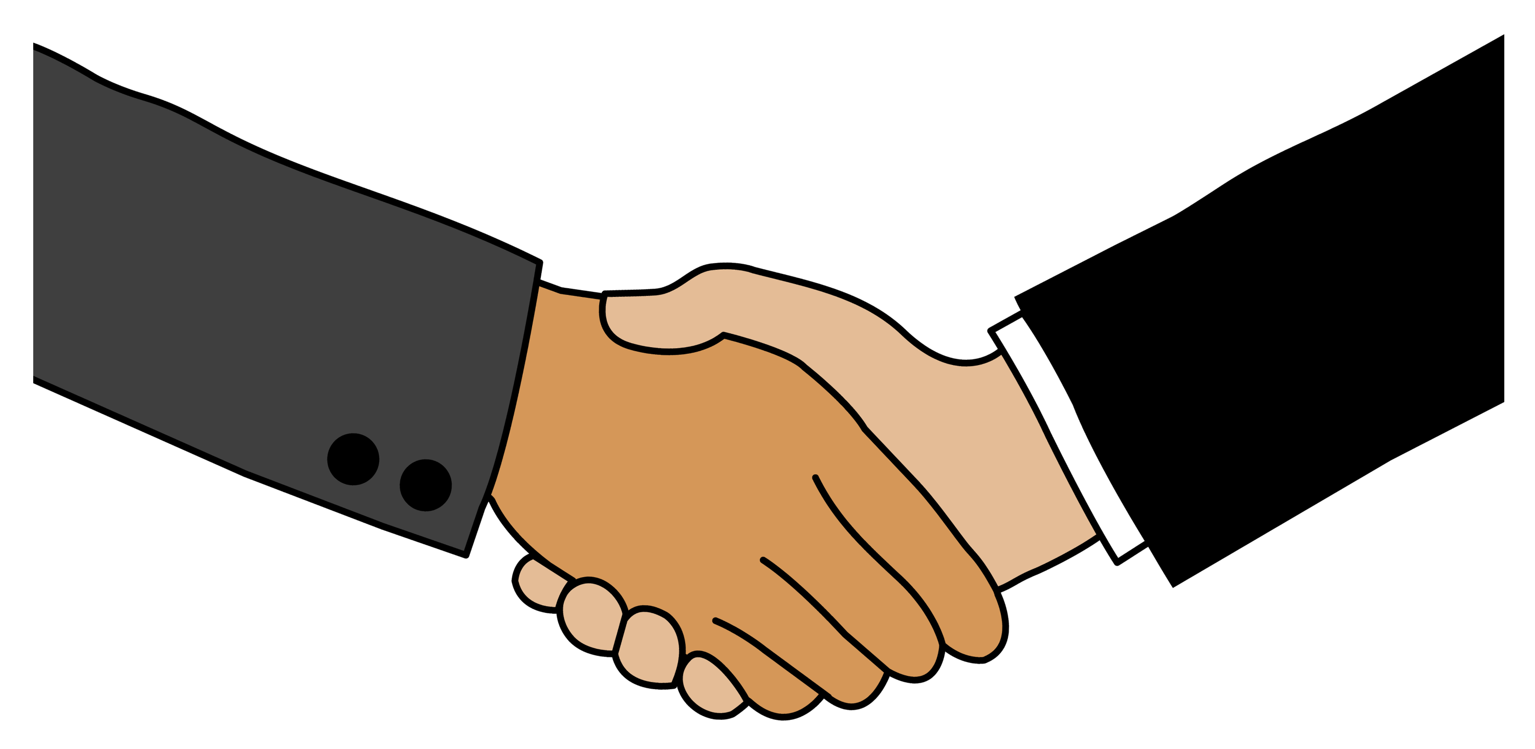 business handshake free clip art rh sweetclipart com clipart man and woman shaking hands clipart images of shaking hands