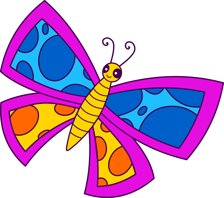 Free Clip Art Of Butterfly
