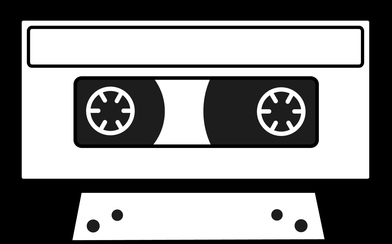 Cassette Tape Silhouette