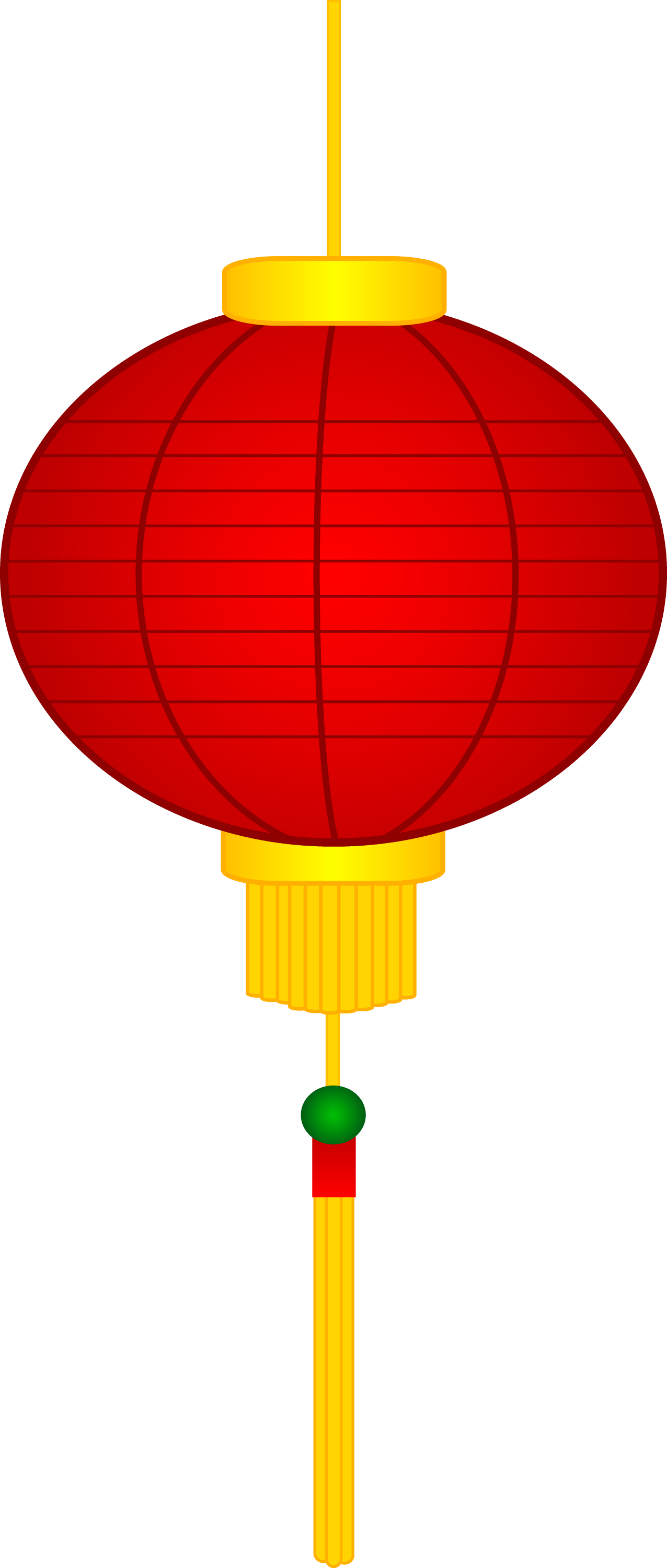 red chinese paper lantern - Chinese New Year Lanterns