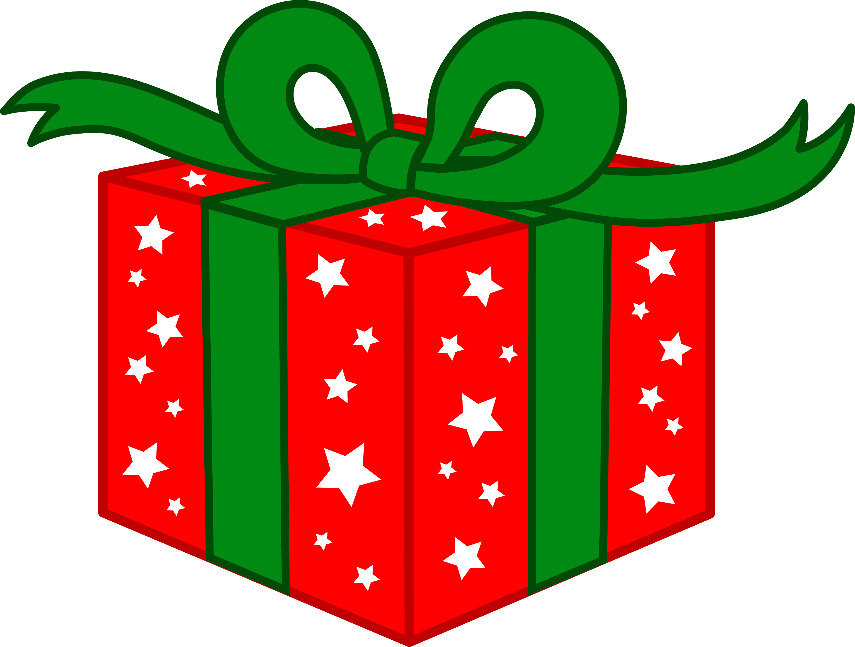 Christmas Gifts For Free. And Green Christmas Gift Free Clip Art.