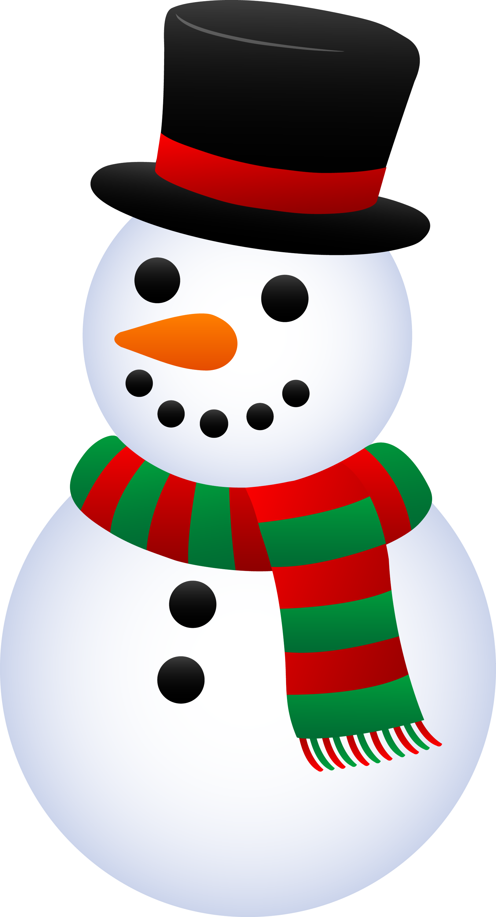 Cute Christmas Snowman Clip Art