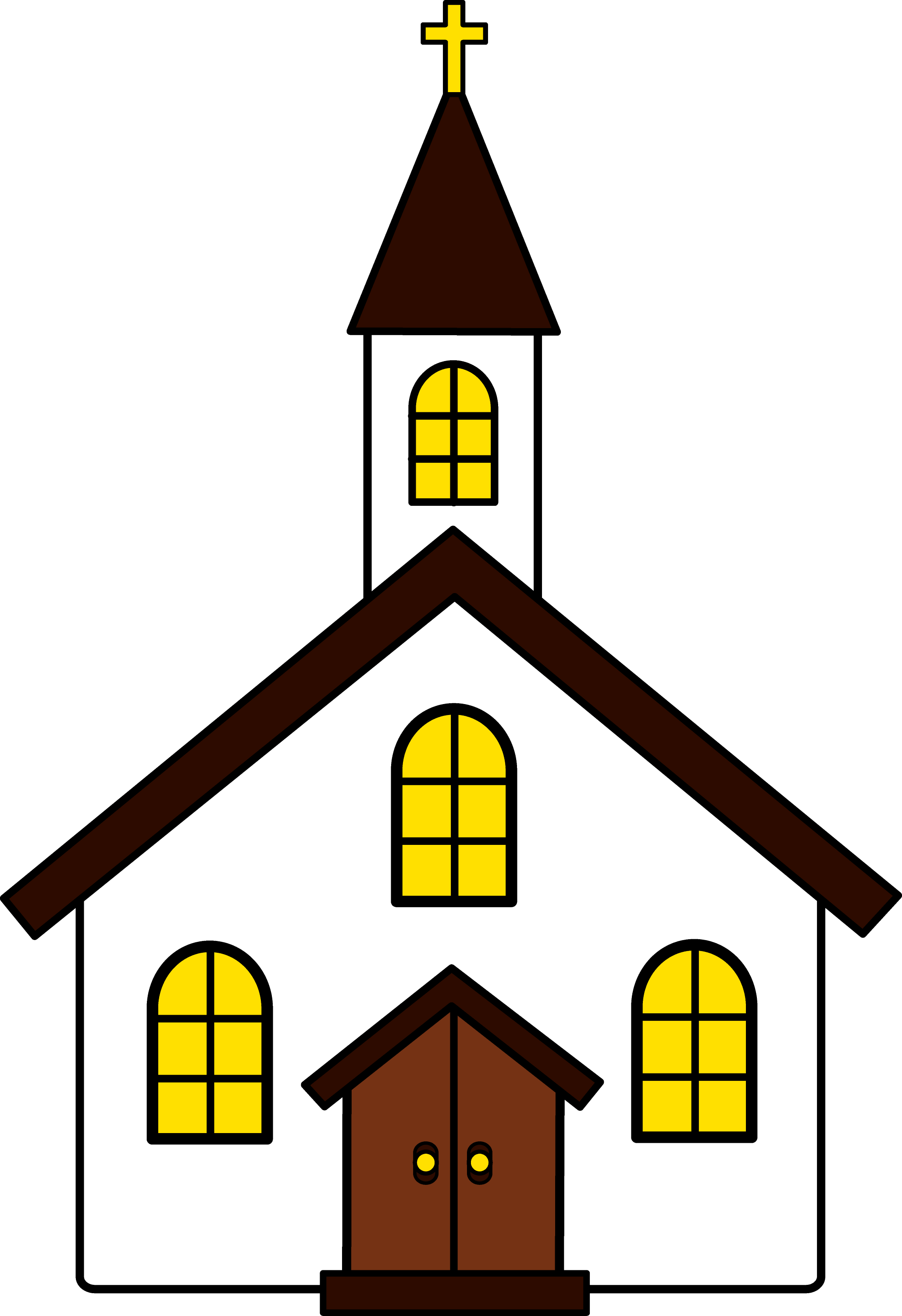 free animated church clip art - photo #5