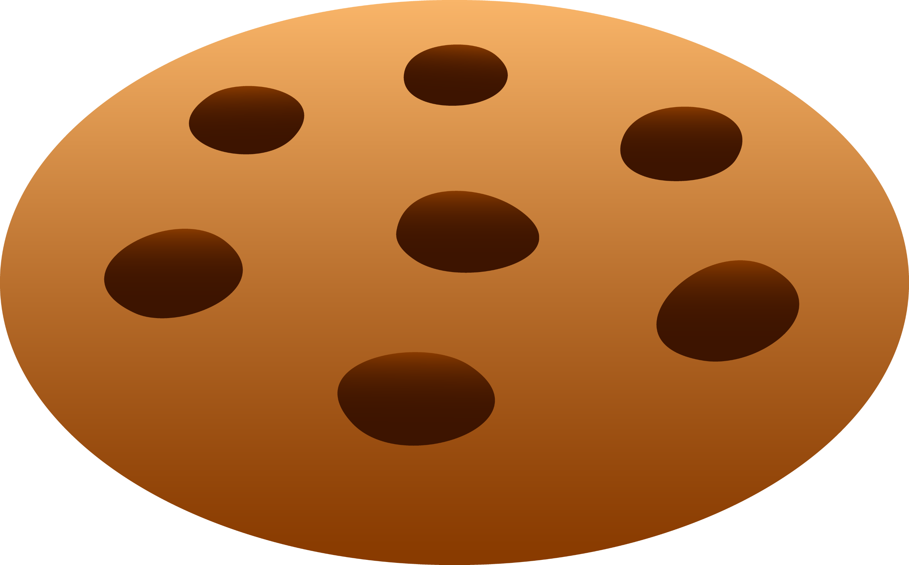 Chocolate Chip Cookie - Free Clip Art