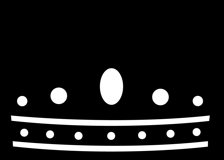 Black Royal Crown Silhouette Free Clip Art