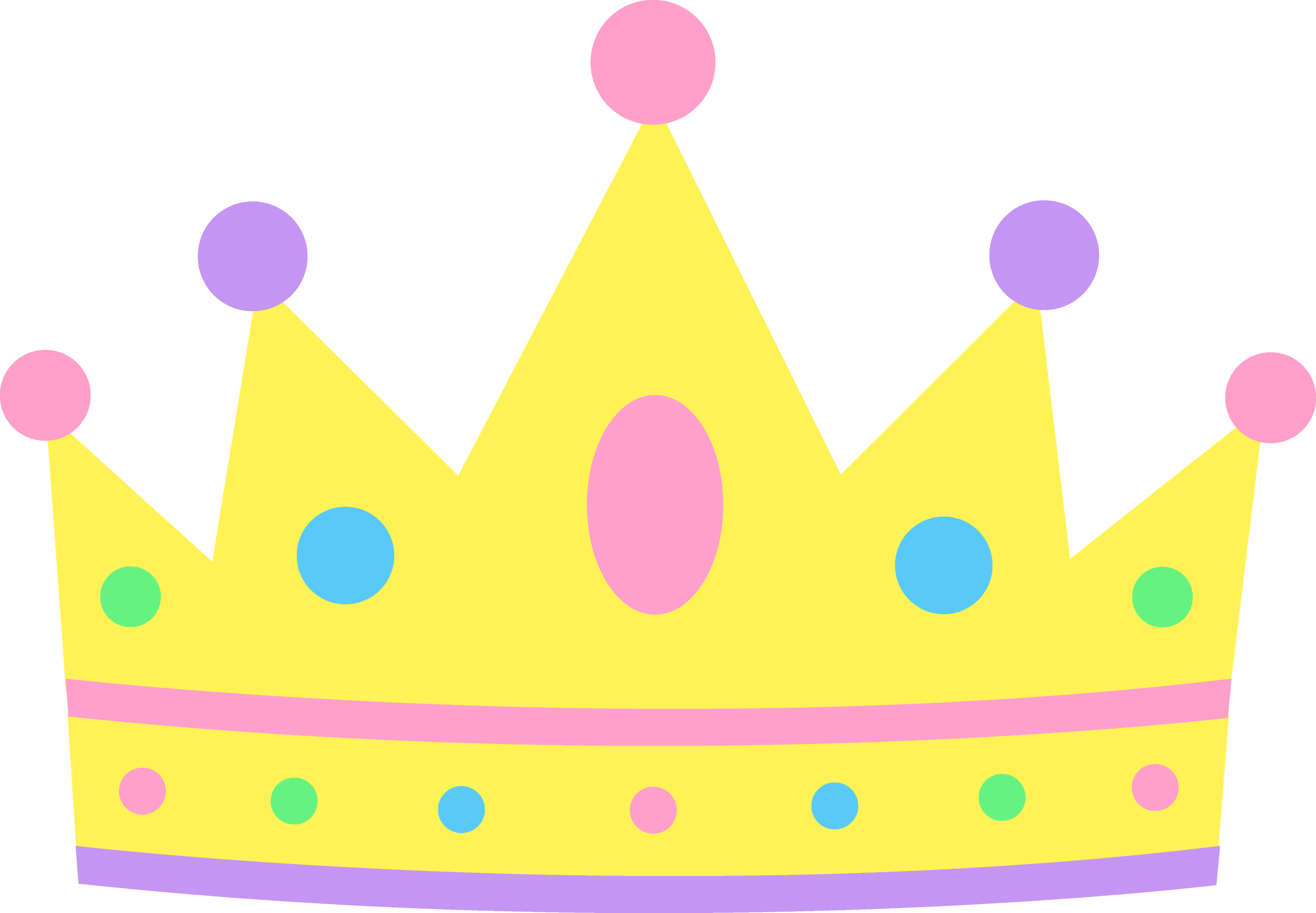 cute pastel princess crown free clip art rh sweetclipart com crown clipart png crown clipart images