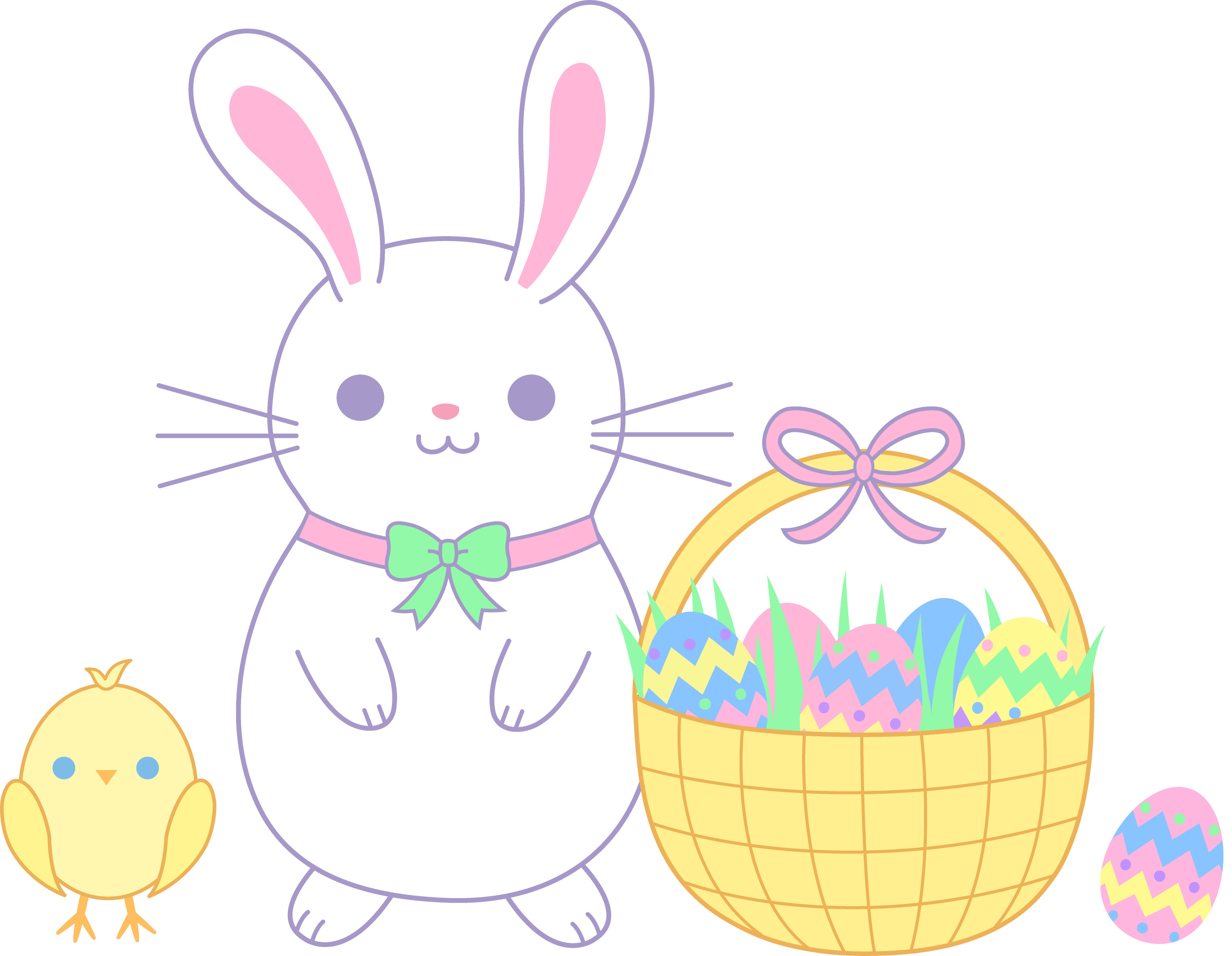free clipart easter bunny - photo #46