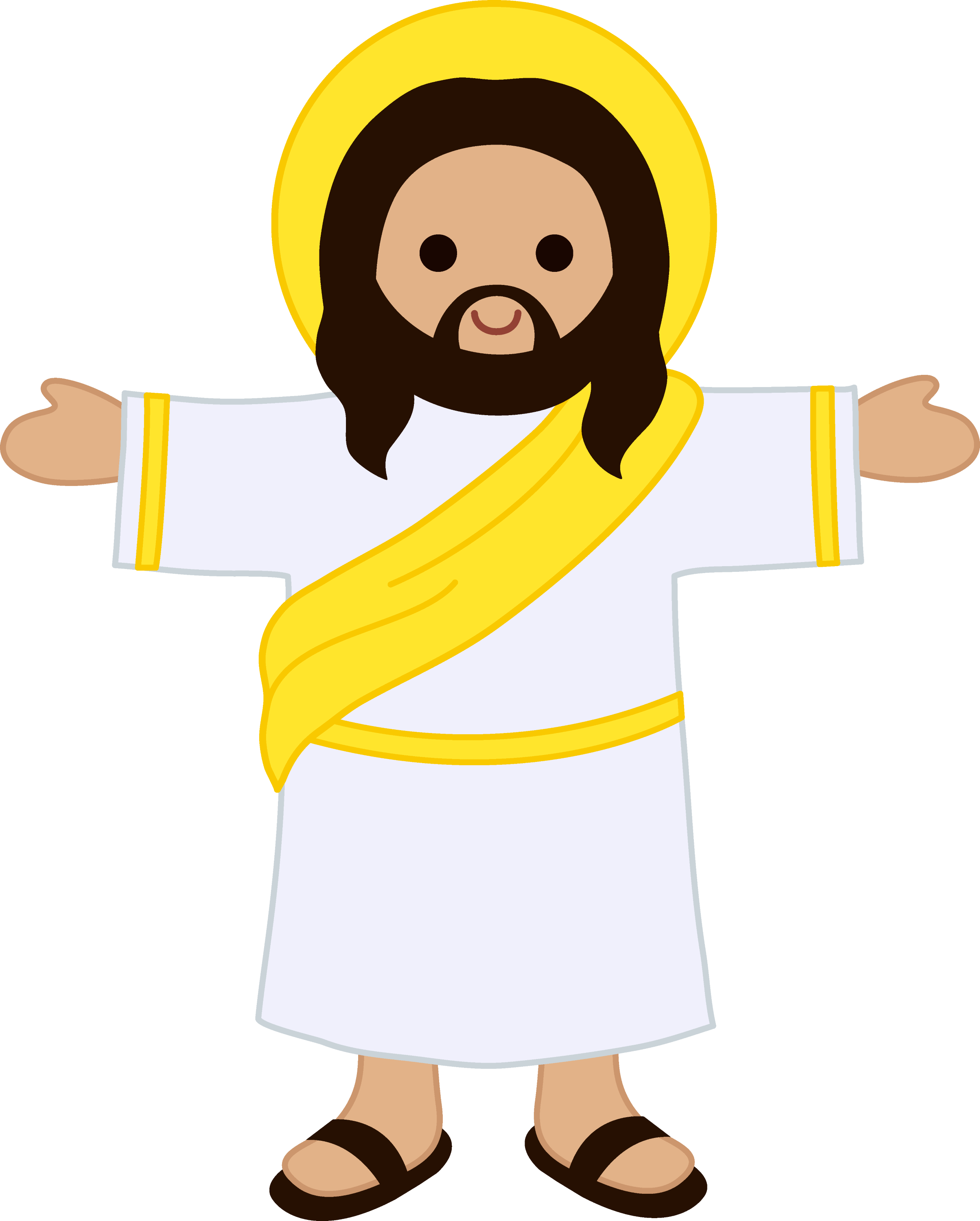 clipart cartoon jesus - photo #3