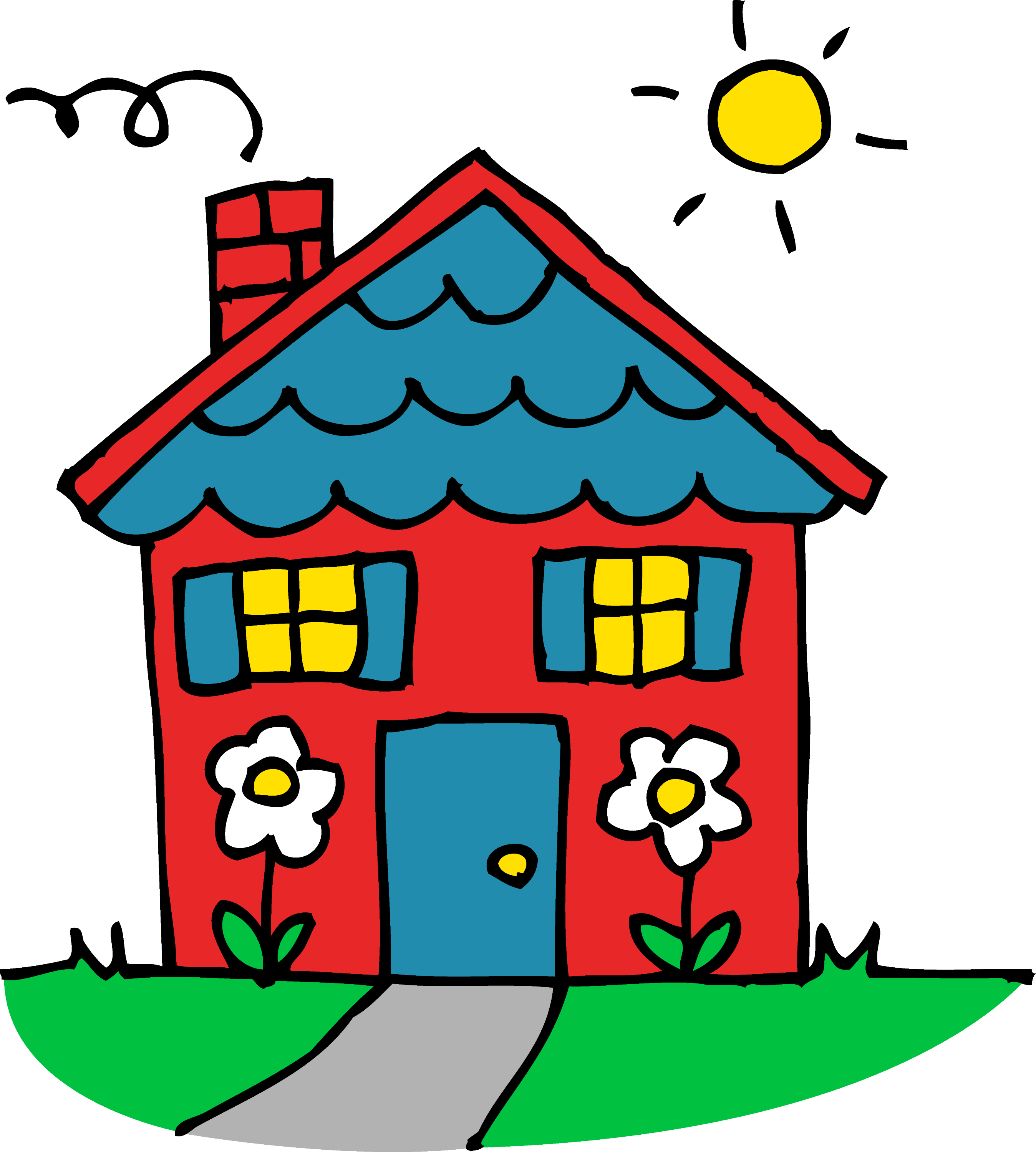 charming little red house free clip art rh sweetclipart com house clipart google house clipart no background