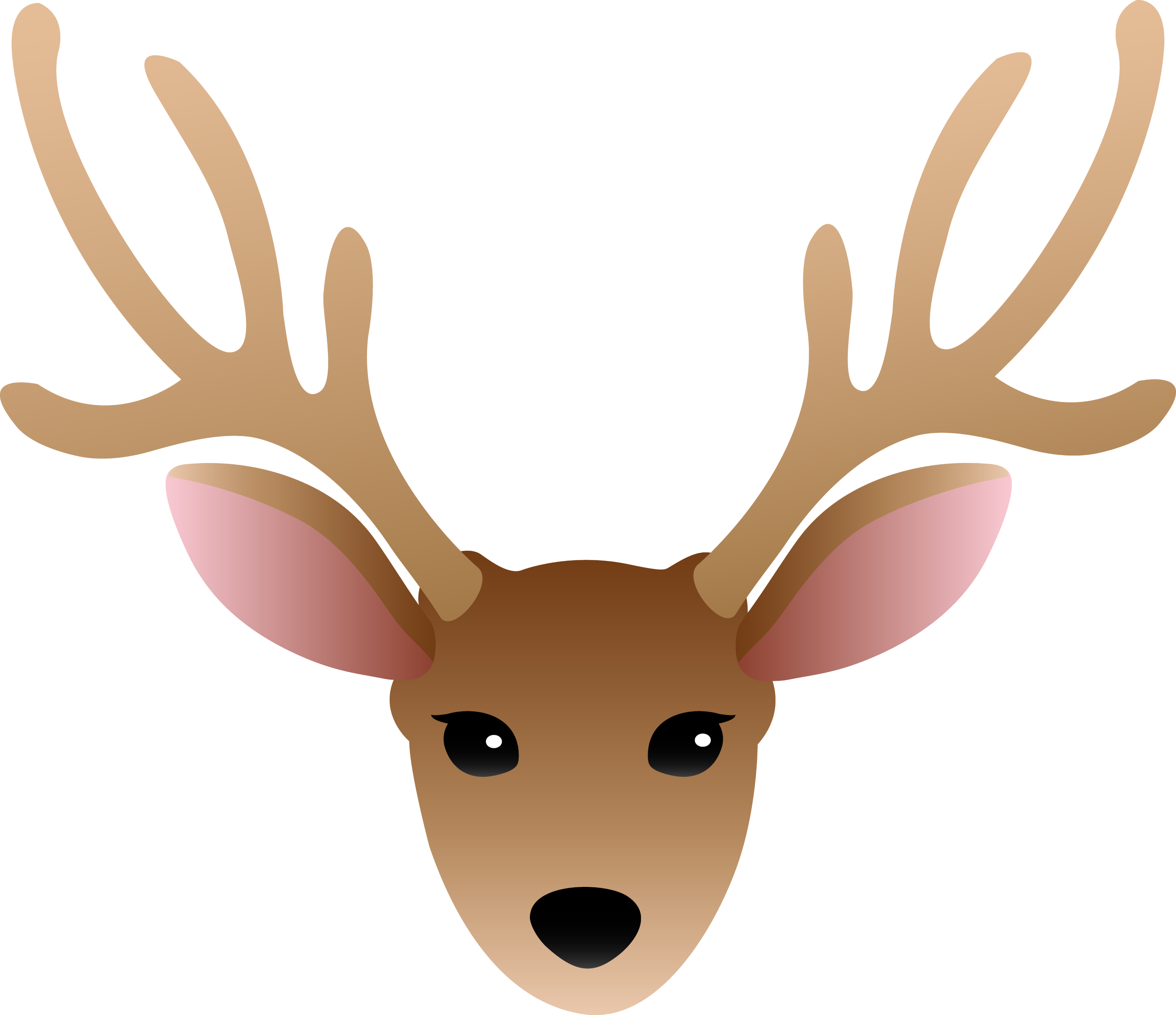 face of a male deer free clip art rh sweetclipart com duck clipart duck clipart