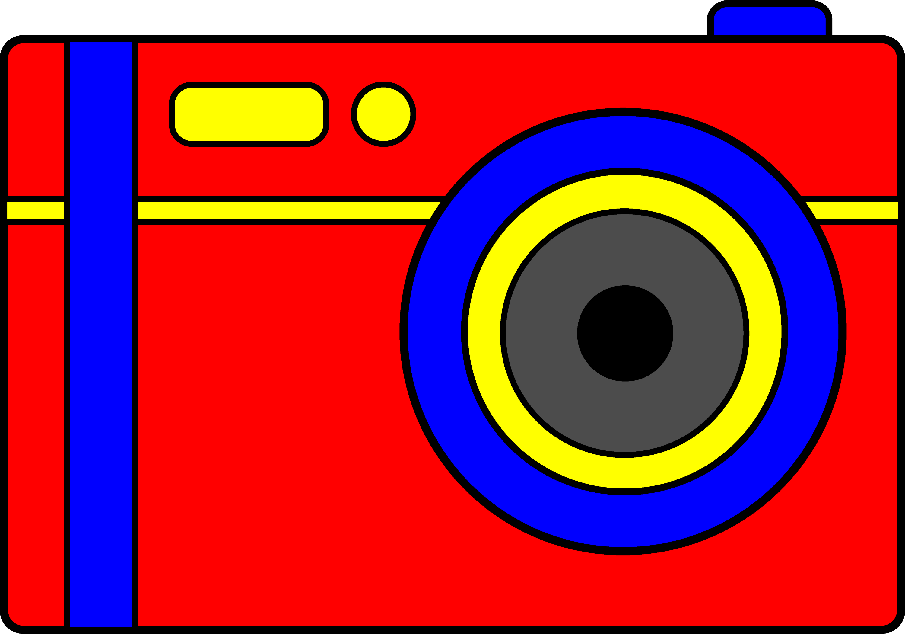 simple red digital camera free clip art clip art of a camera lens clipart of a camera man taking kids pictures