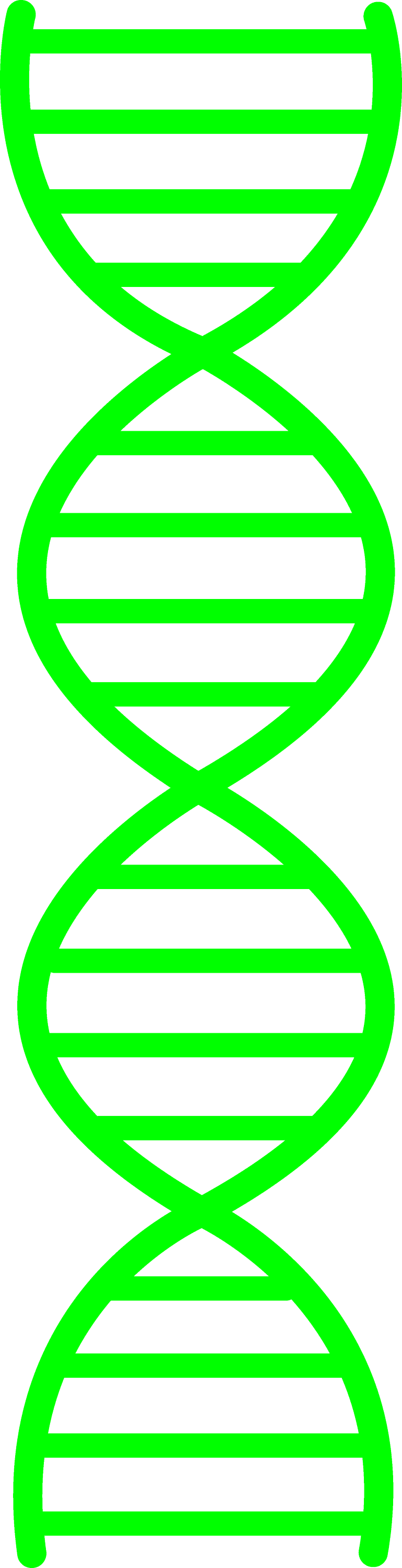 Green DNA Design - Free Clip Art