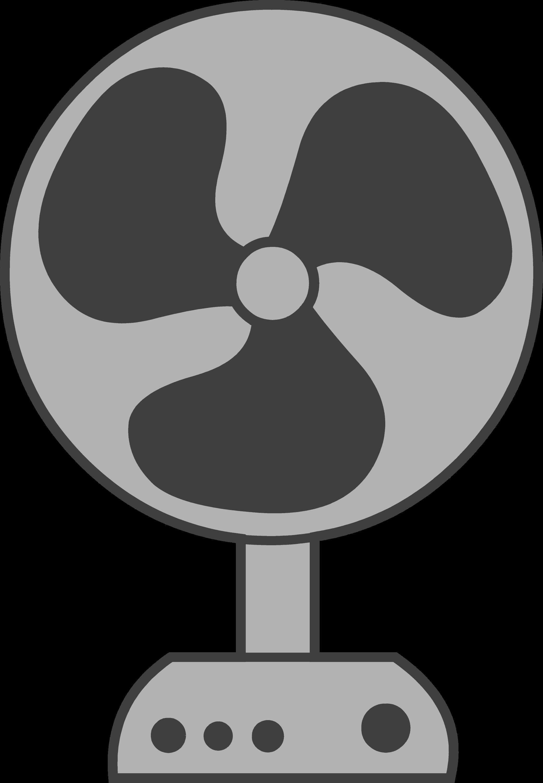 Electric Fan Logo Design - Free Clip Art