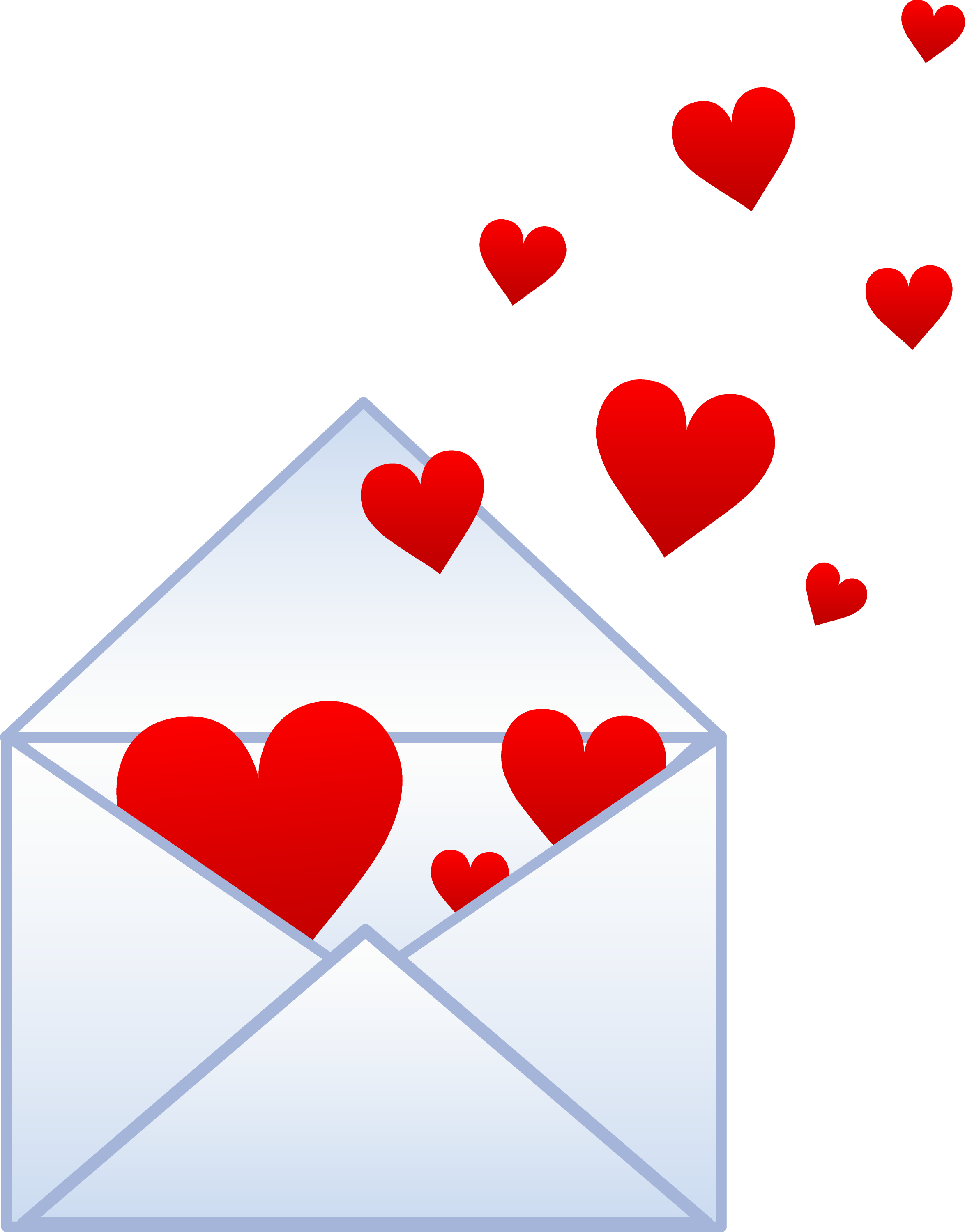 Love Note With Hearts
