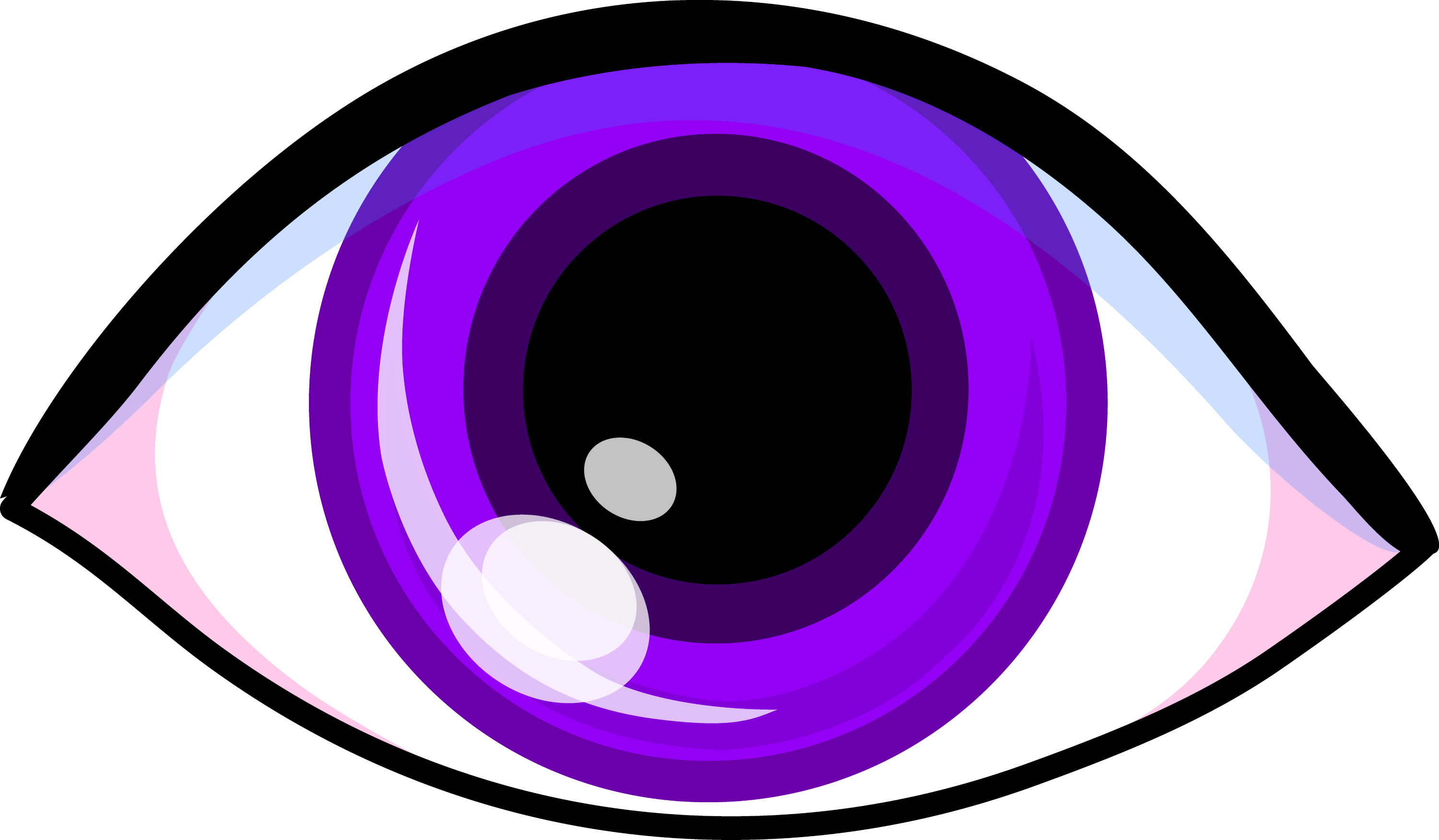 Purple Eye Clipart