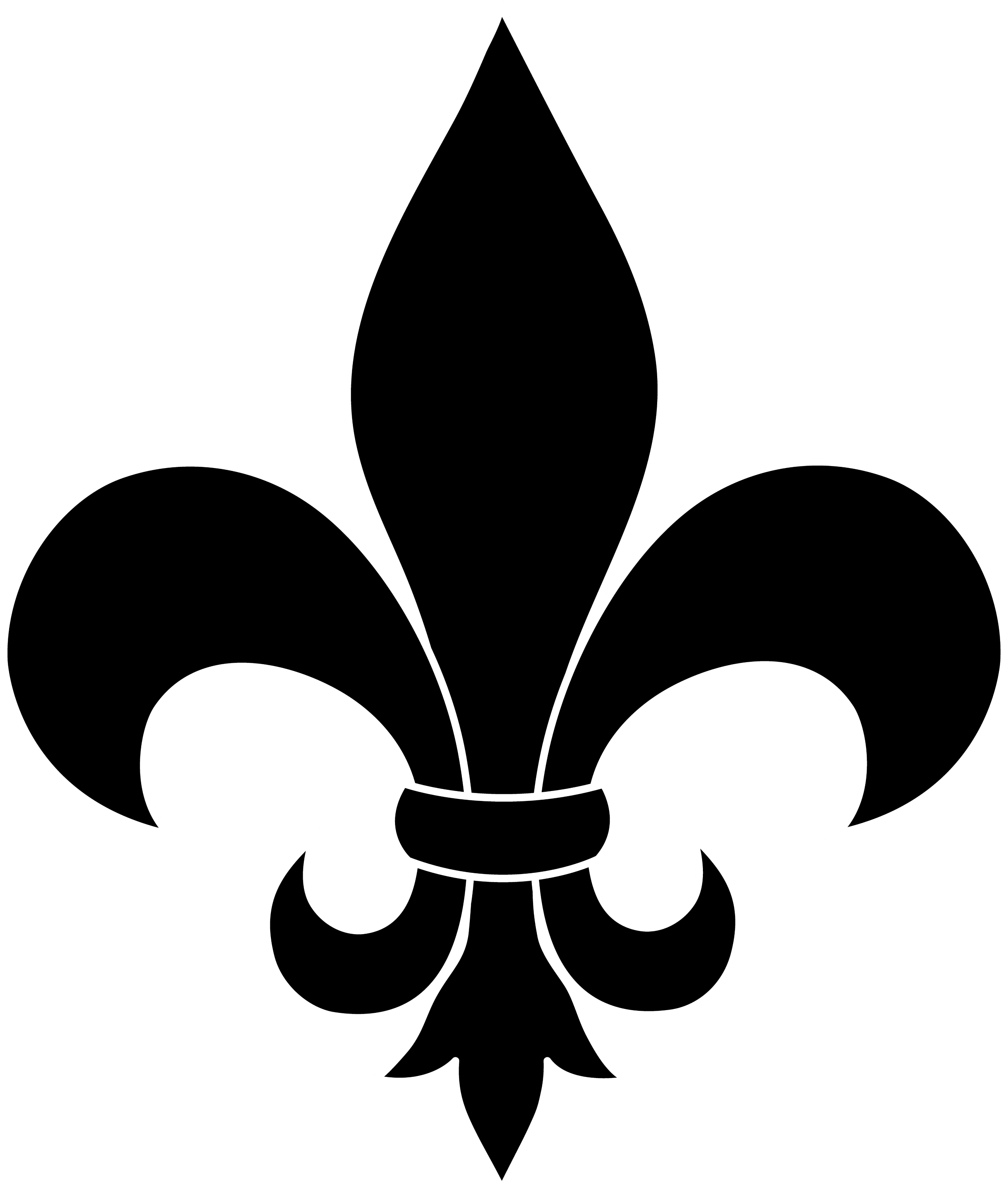 black fleur de lis silhouette free clip art. Black Bedroom Furniture Sets. Home Design Ideas