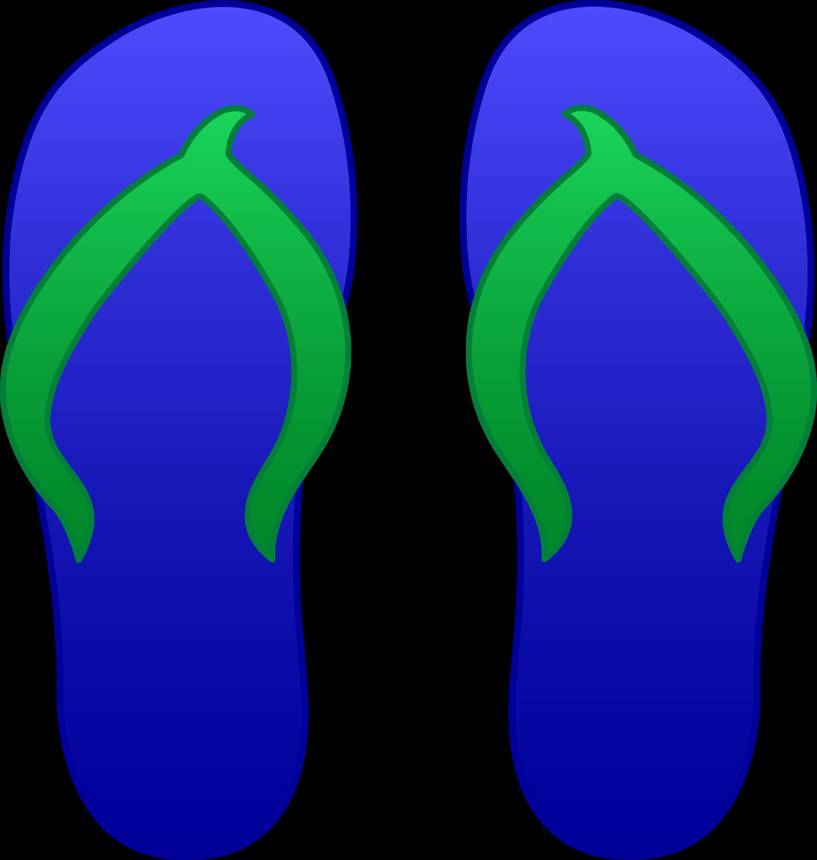 blue flip flops free clip art rh sweetclipart com flip flops clip art png flip flop clip art free