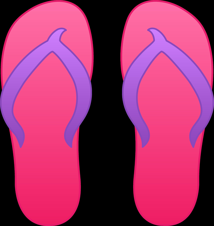 pink flip flops free clip art rh sweetclipart com flip flop clip art png flip flops clip art