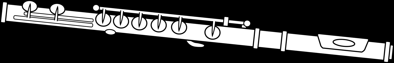 Black and White Flute Design