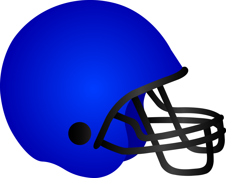8cb870bf Blue Football Helmet - Free Clip Art