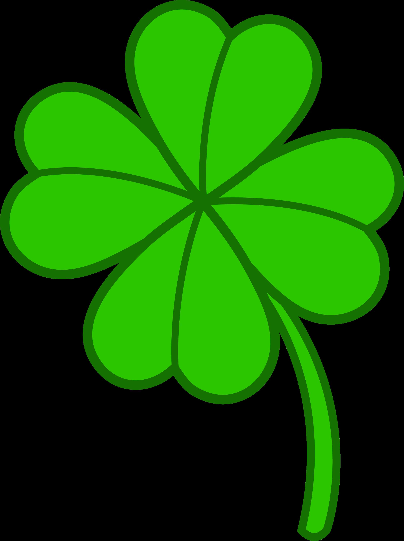 four leaf clover version 2 free clip art rh sweetclipart com 4 leaf clover clip art black and white 4 leaf clover clip art printable