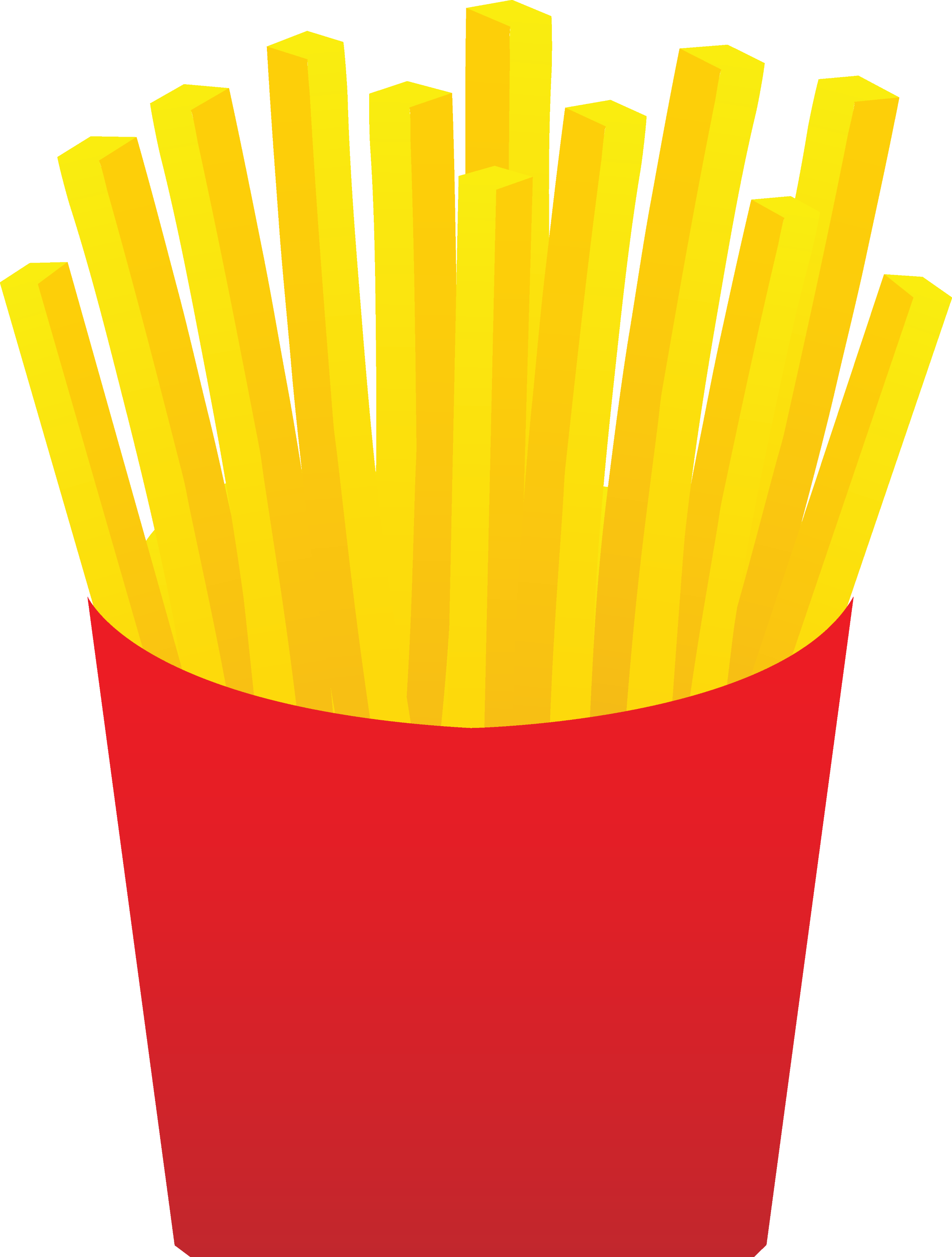Animated french fries - photo#4