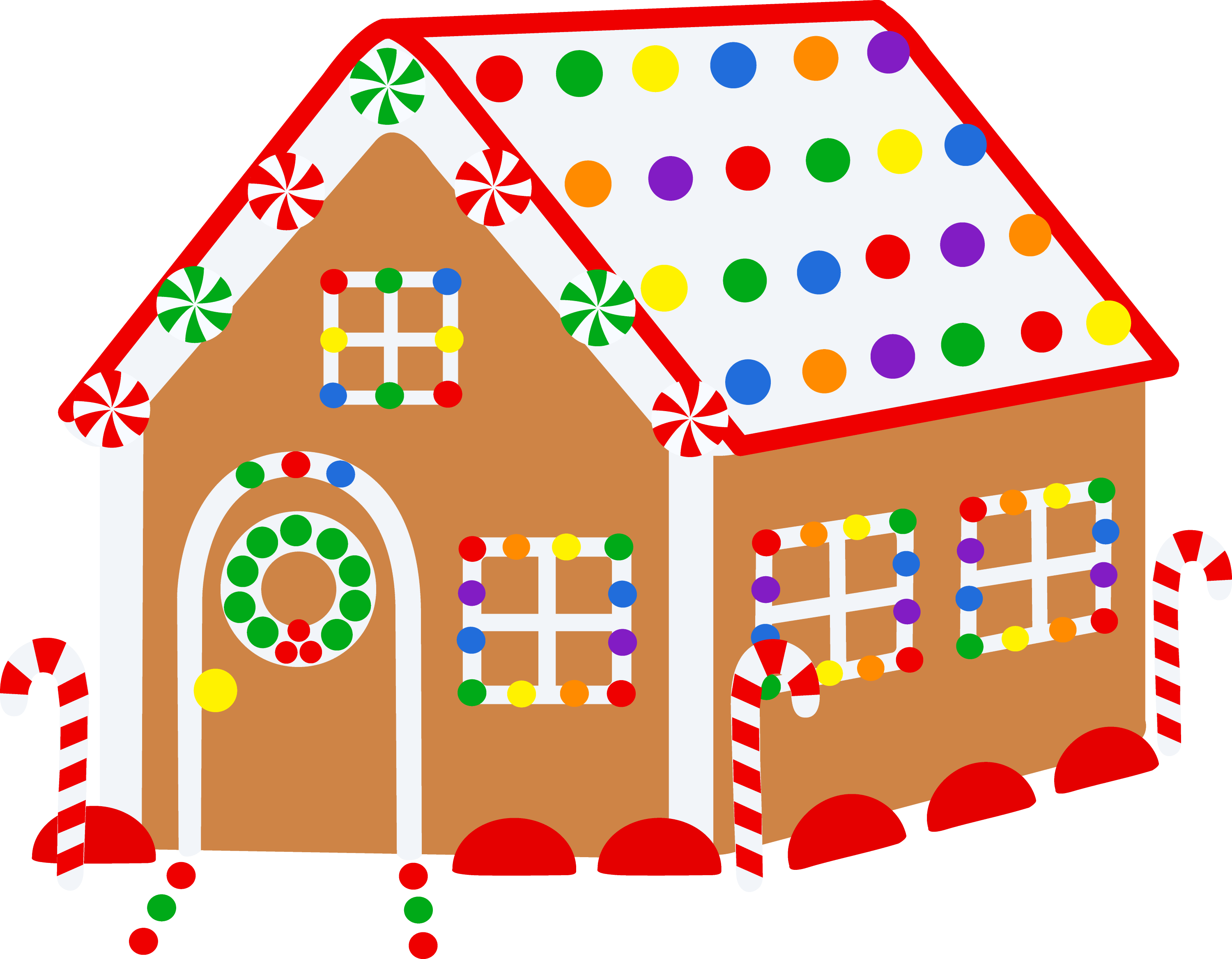 free gingerbread house clipart - photo #3