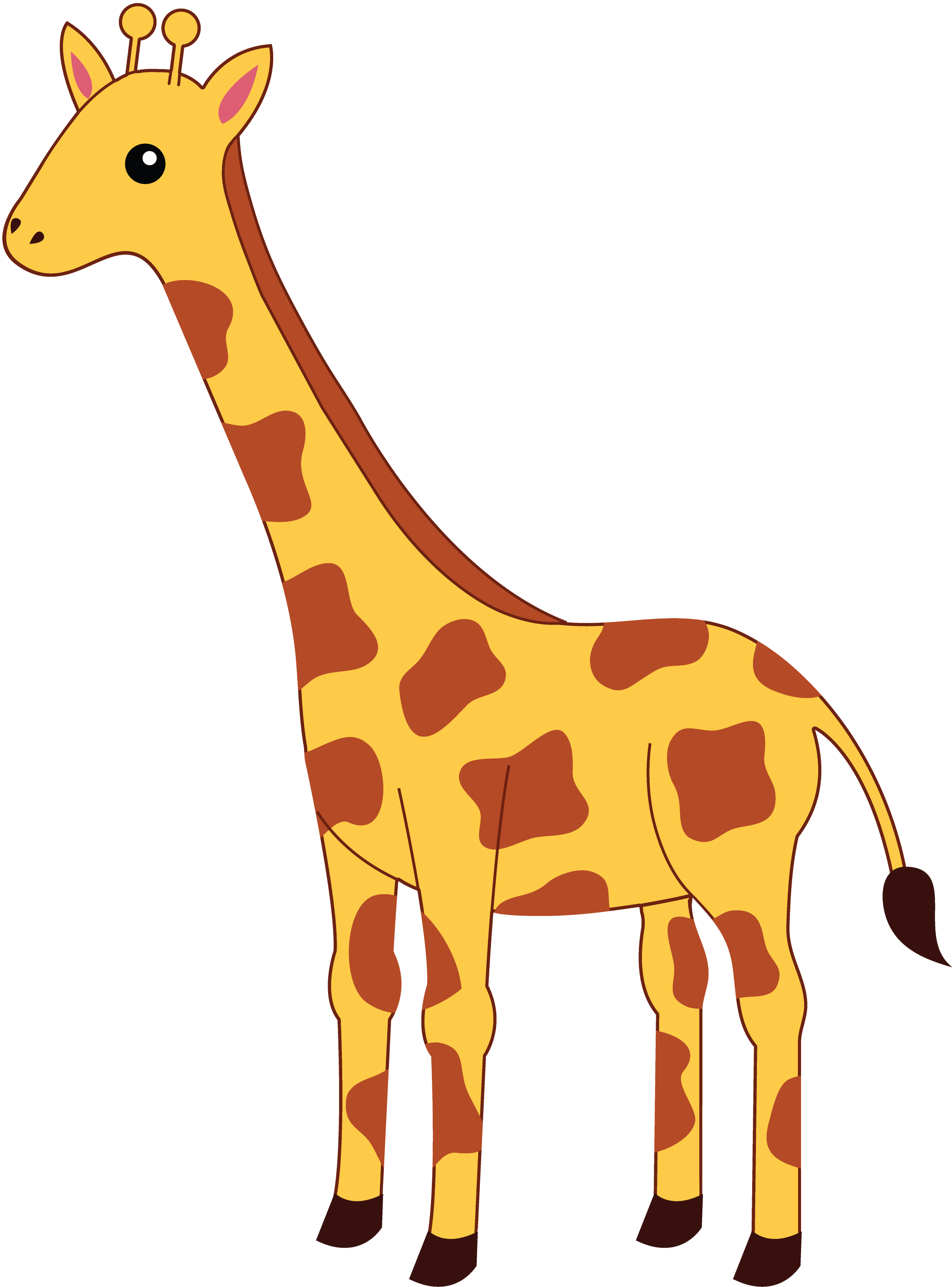 clipart baby giraffe - photo #34