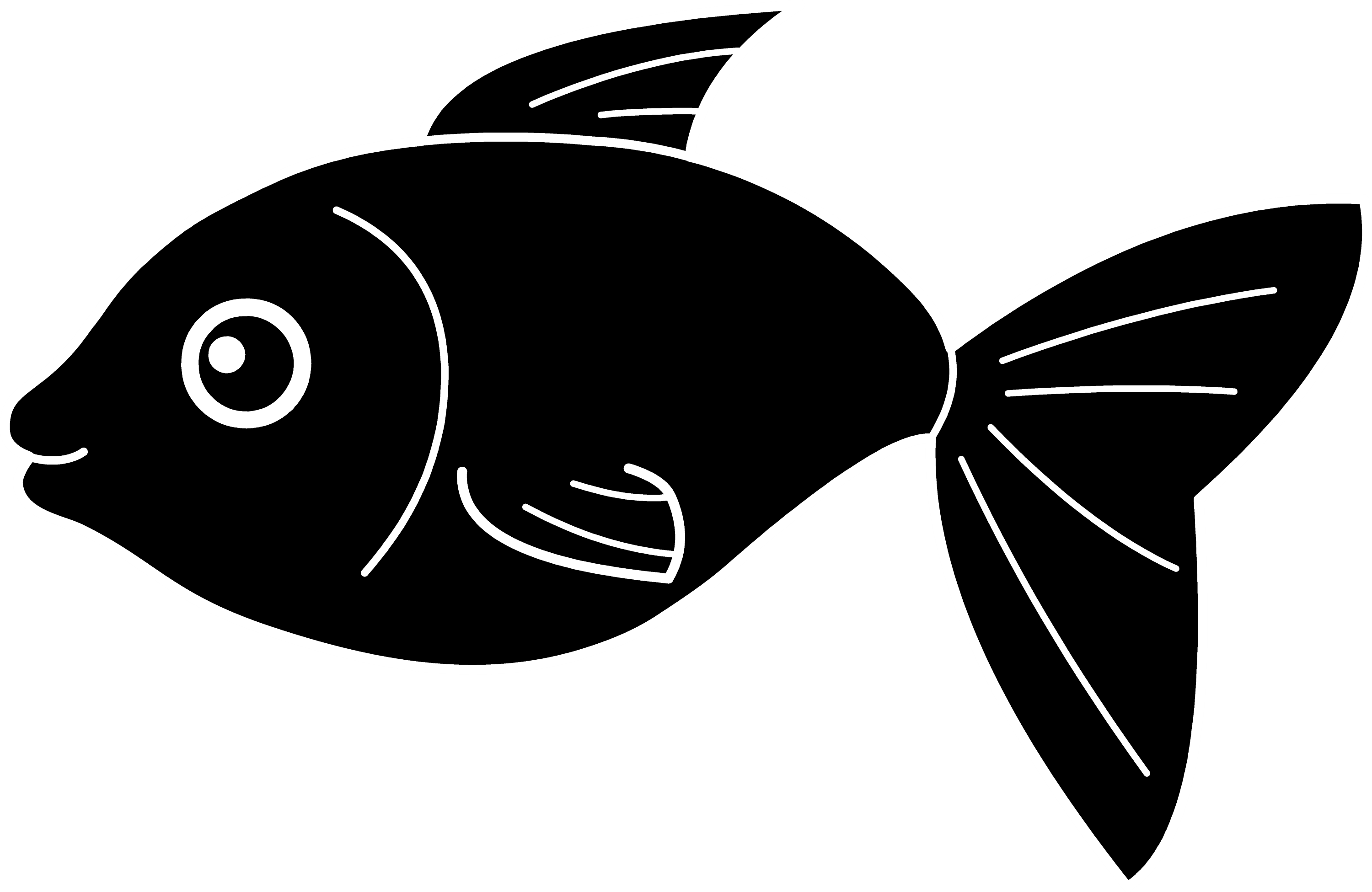 Clip Art Black Clipart black fish silhouette free clip art happy design