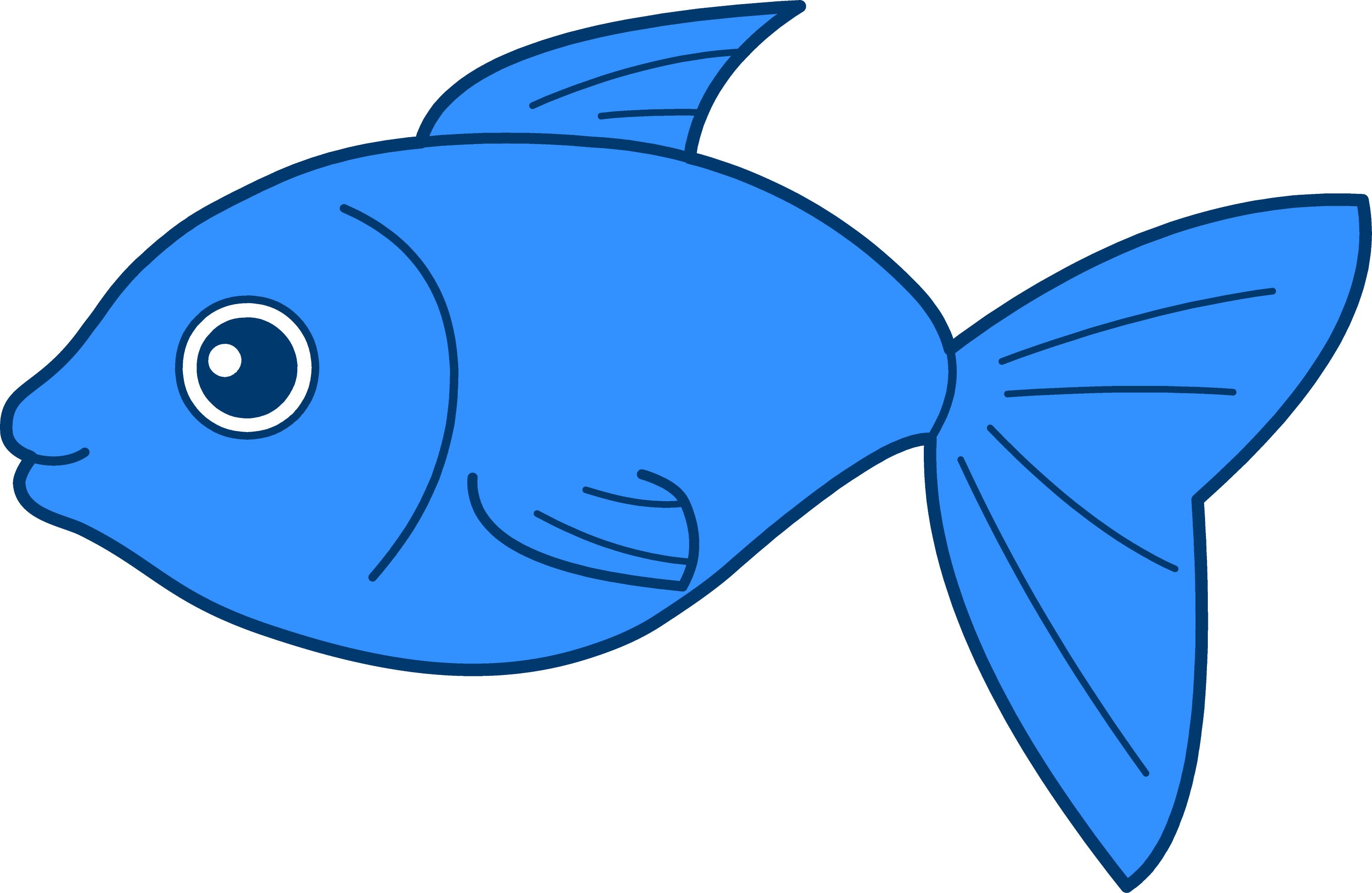 fish clipart drawing - photo #5