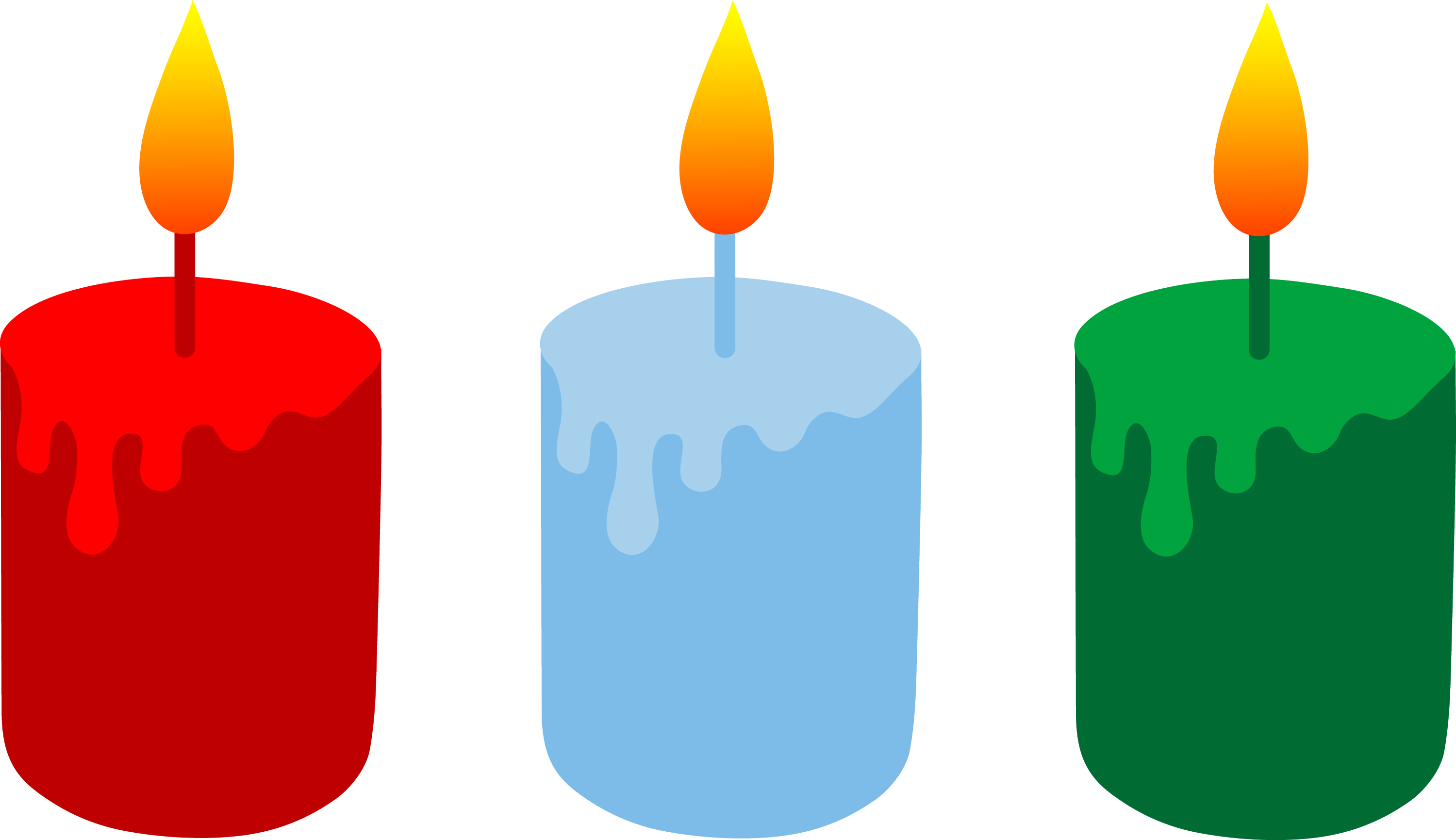 Christmas Candle Clip Art Free Downloads