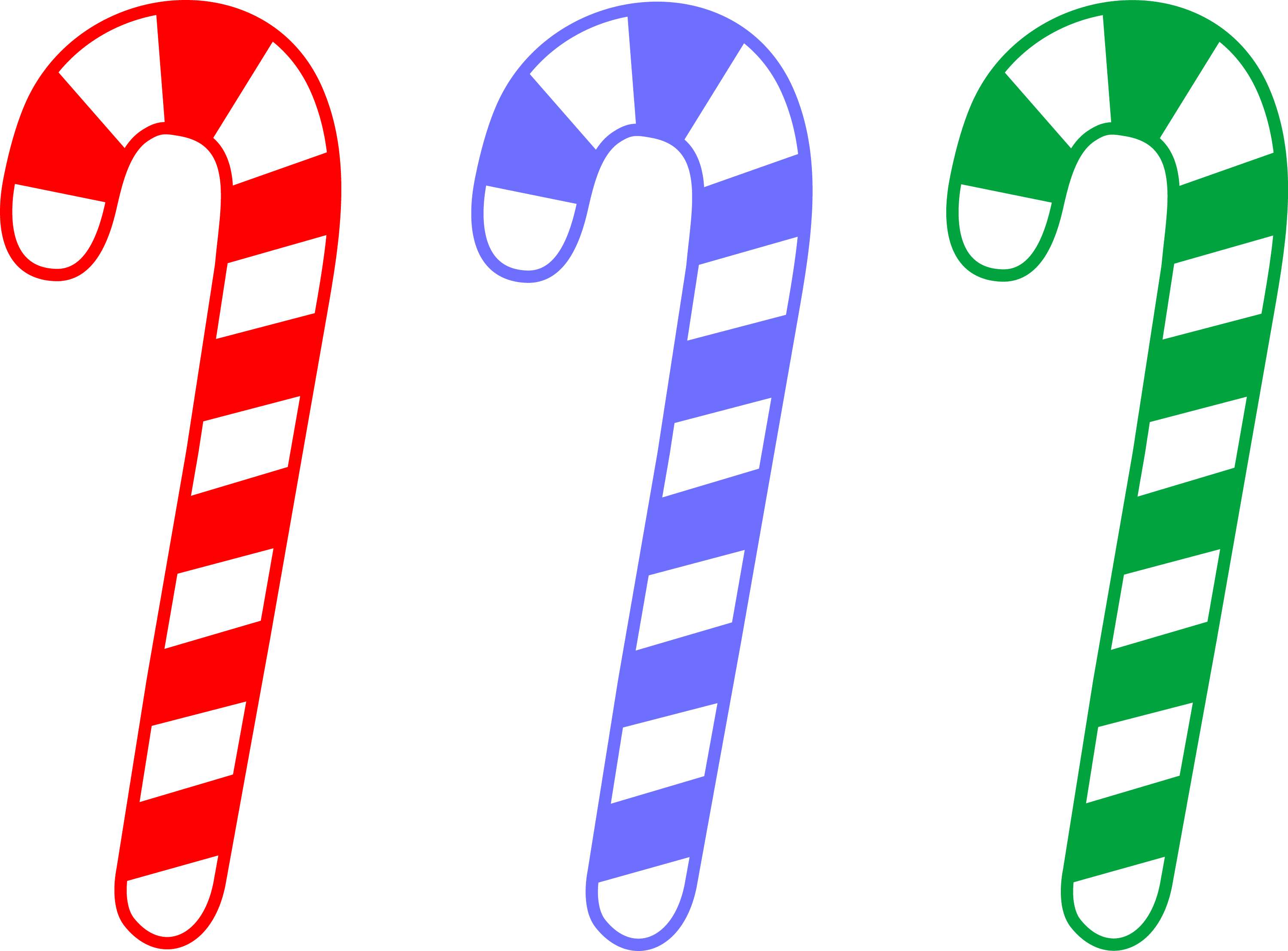 red blue and green candy canes free clip art rh sweetclipart com candy cane clipart border free candy cane clipart free download