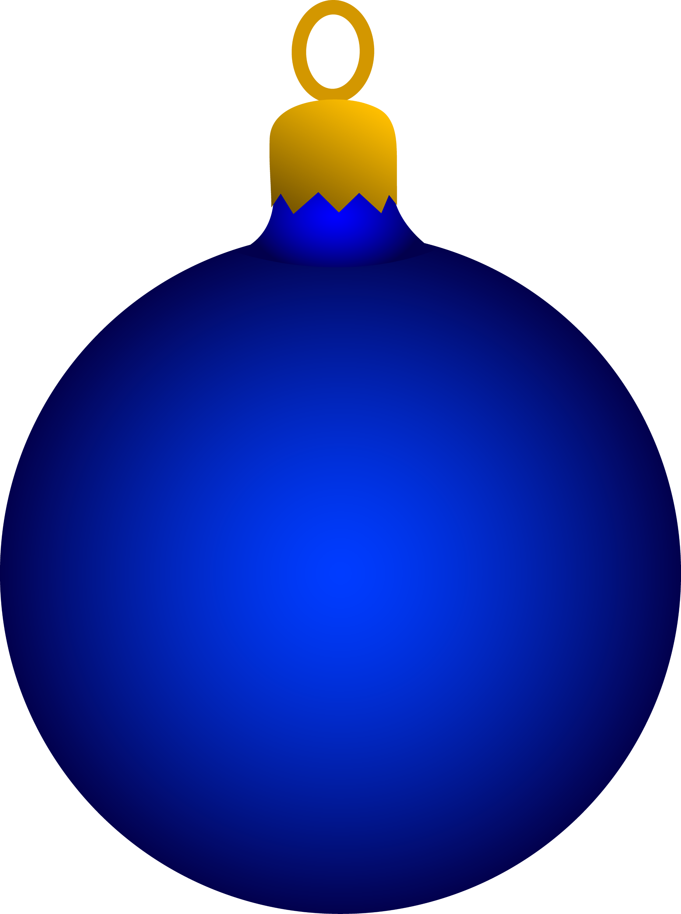 round blue tree ornament - Christmas Tree Ornament