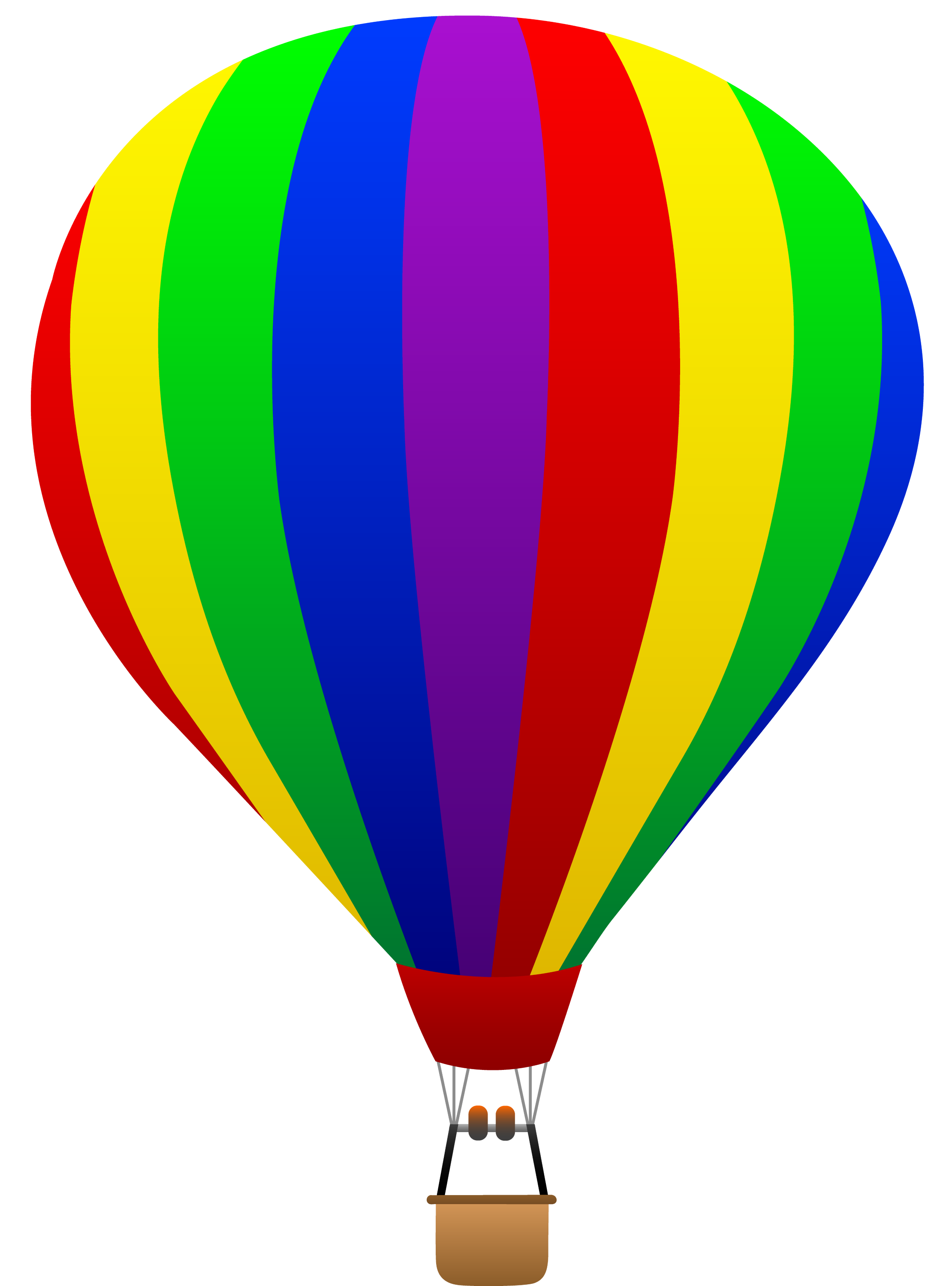 Colorful Hot Air Balloon Clipart hot air balloons — crafthubs