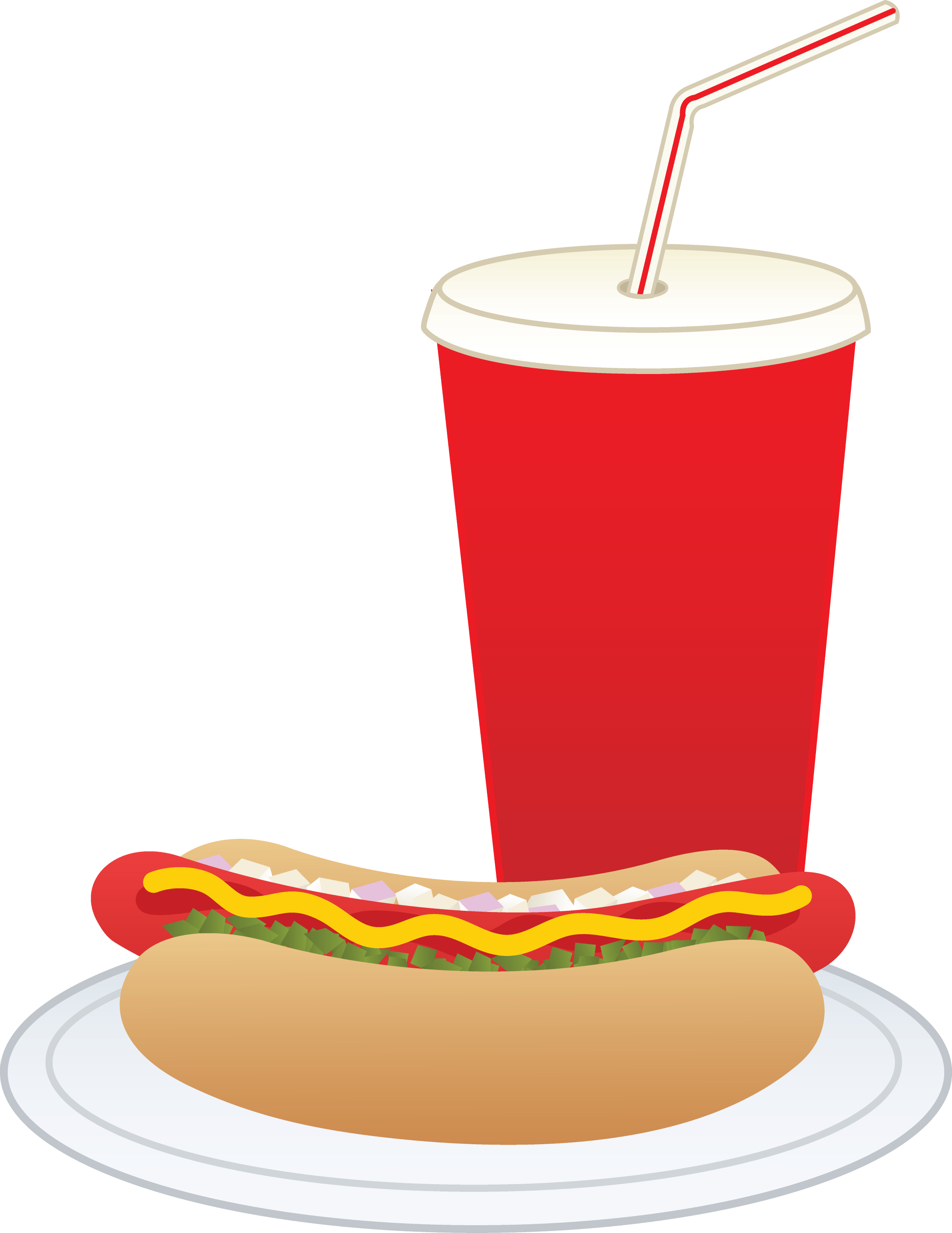 hot dog and soft drink free clip art rh sweetclipart com soda clipart black and white sofa clipart