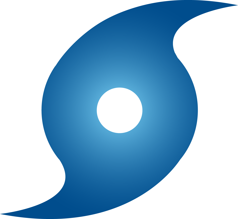 blue hurricane weather symbol free clip art rh sweetclipart com hurricane clipart hurricane clipart