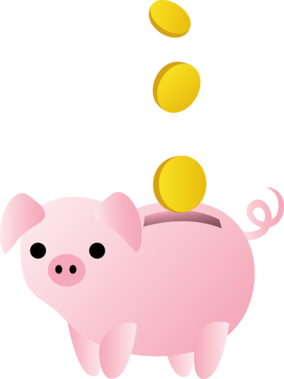 Clip Art Piggy Bank Clip Art piggy bank with coins free clip art art