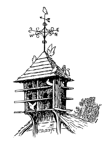 Weathervane Public Domain Clipart